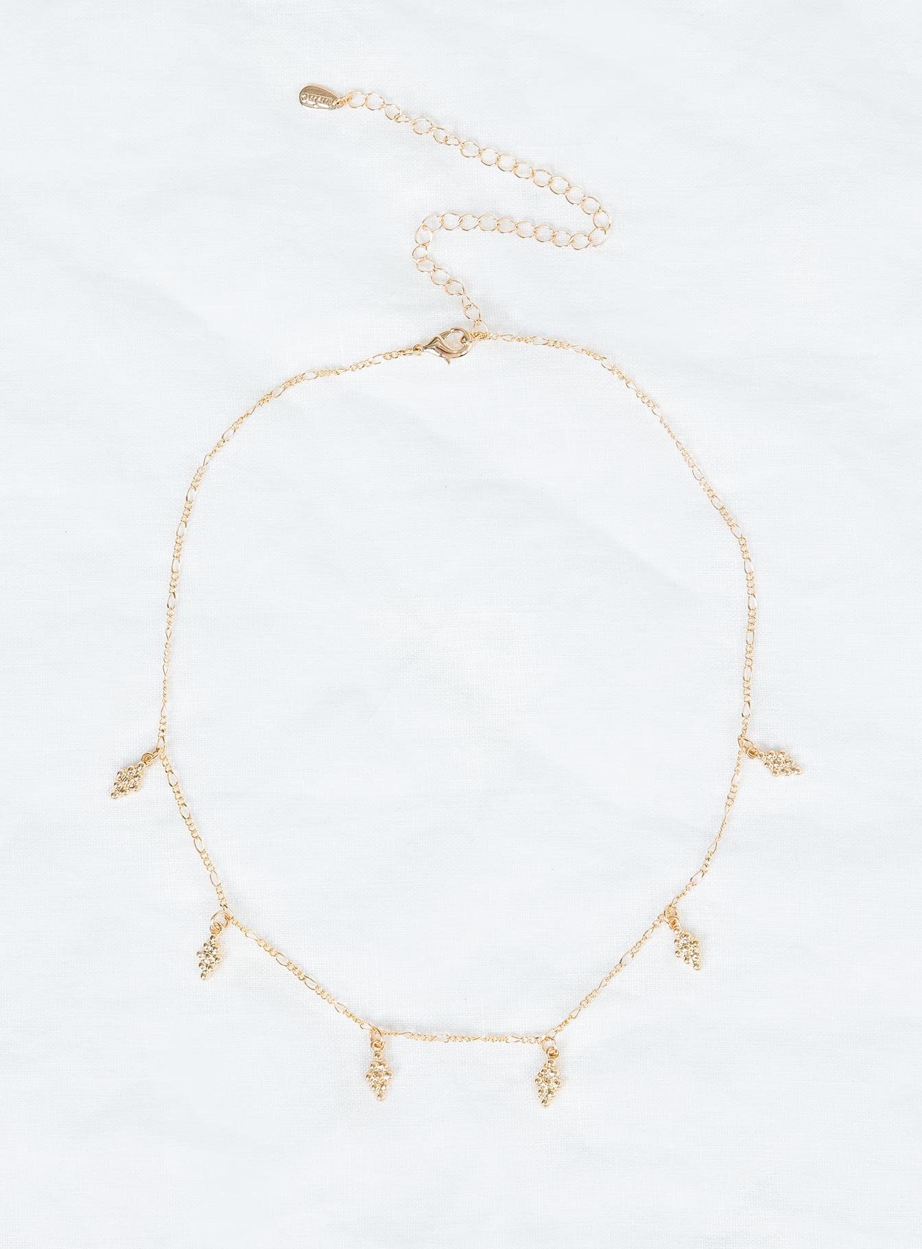 Minc Collections Cluster Charm Choker