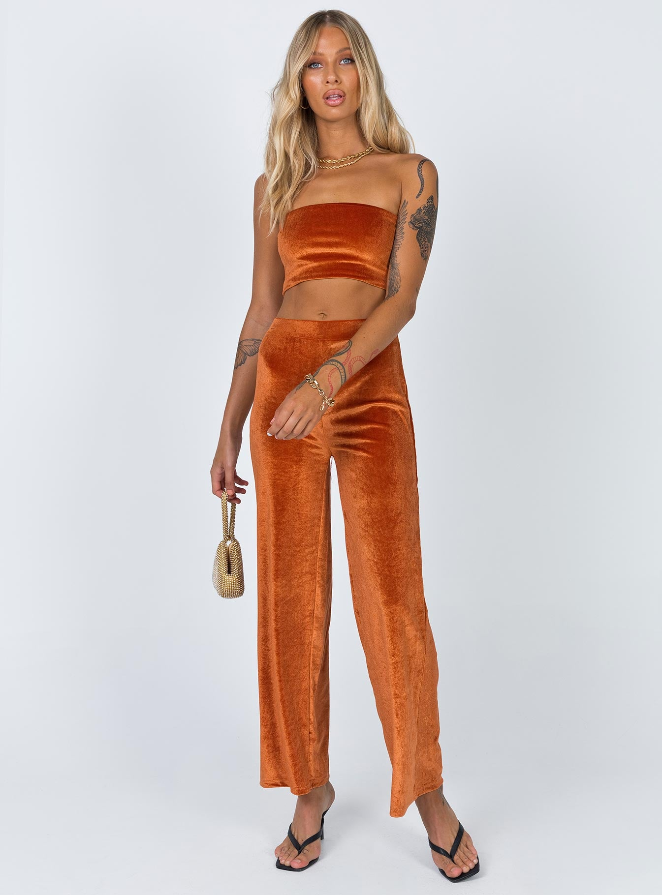 Saint Pants Orange