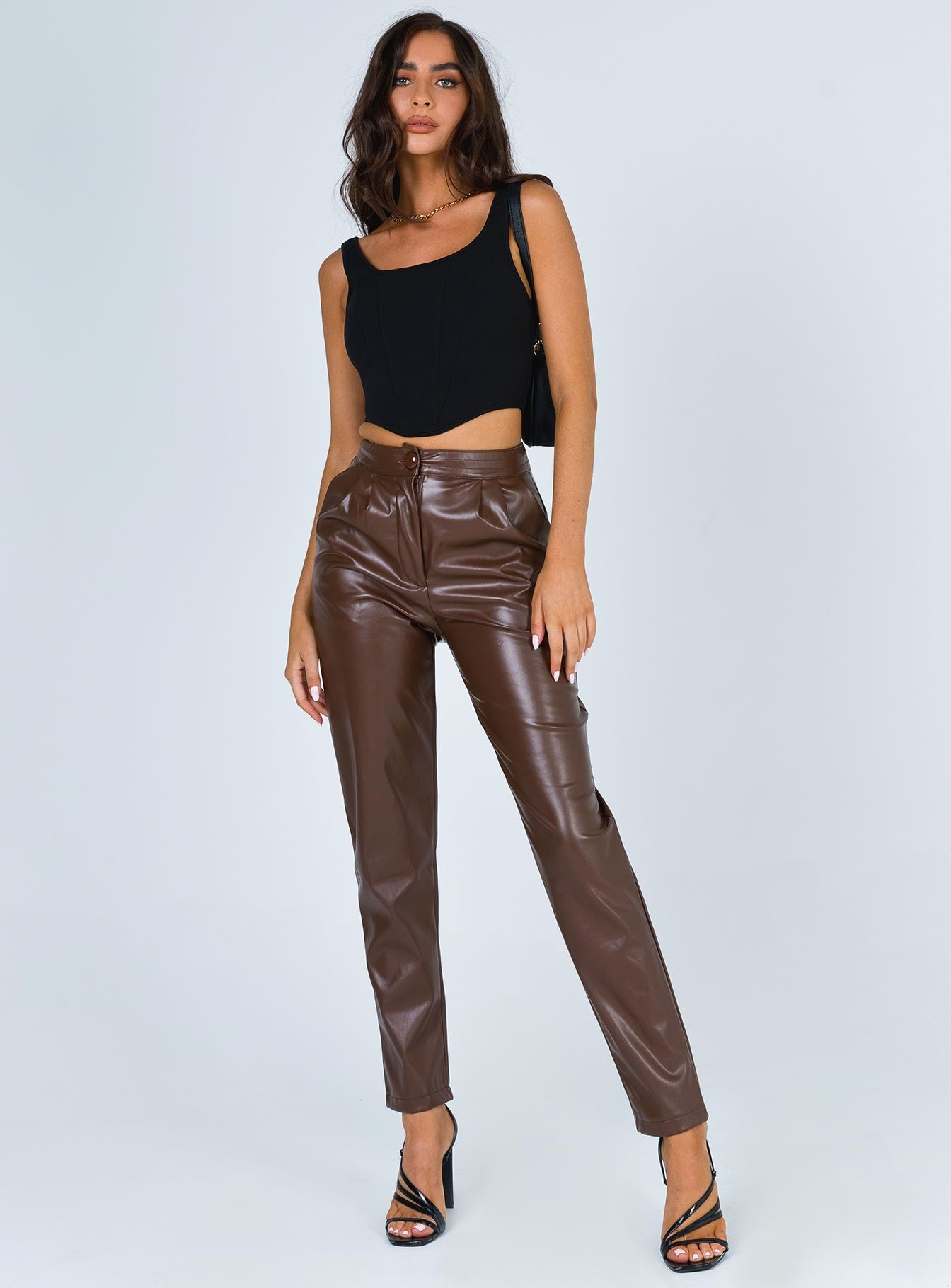 Love Club Pants Brown