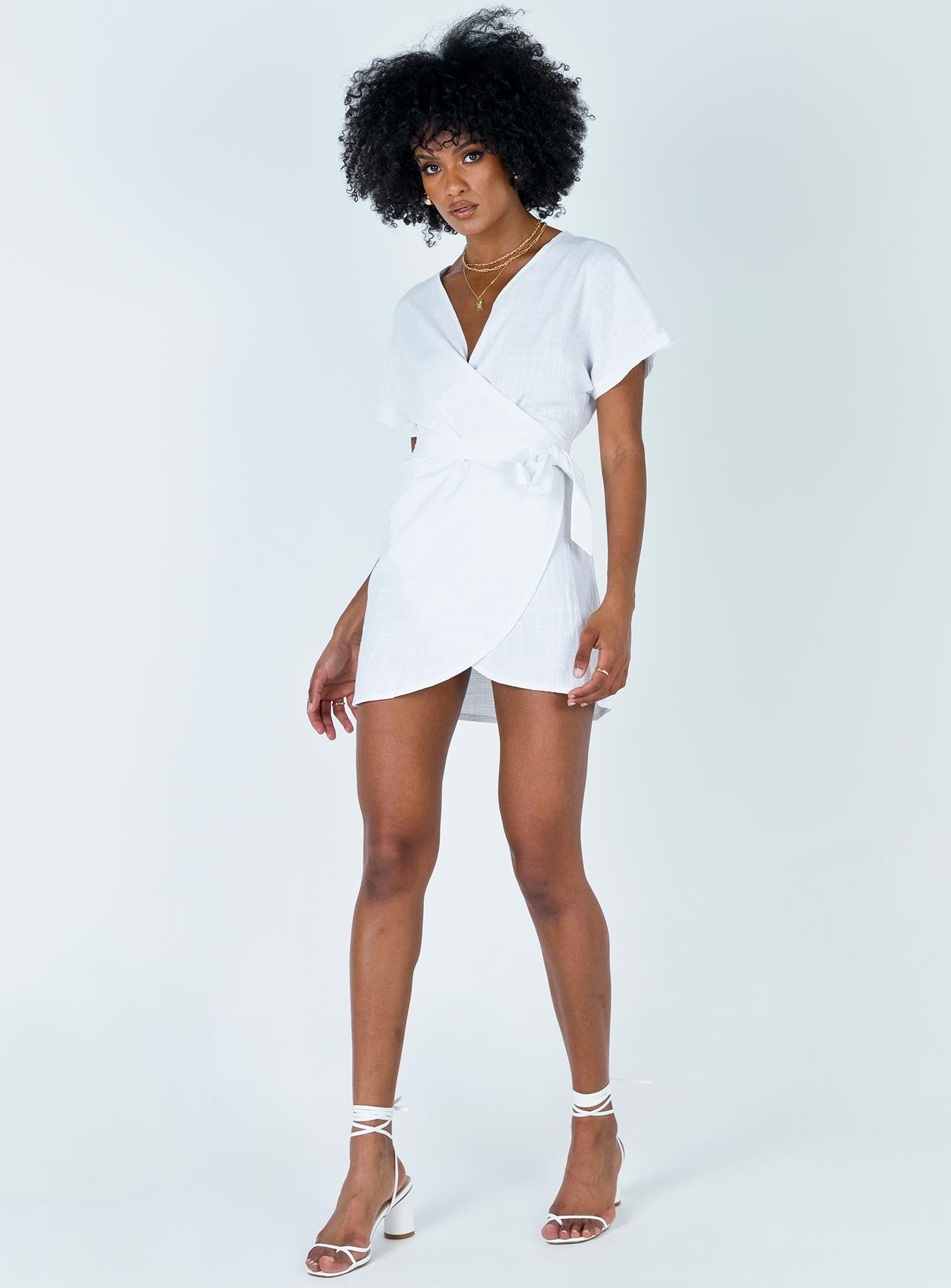 Juralina Mini Dress White