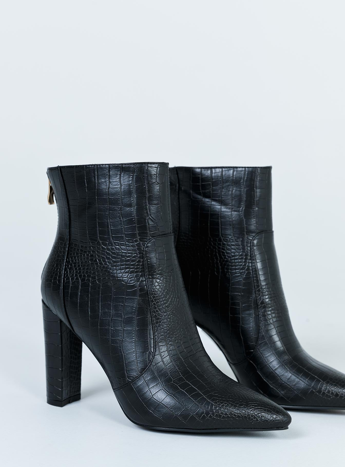 Billini Kourt Boot Black Croc