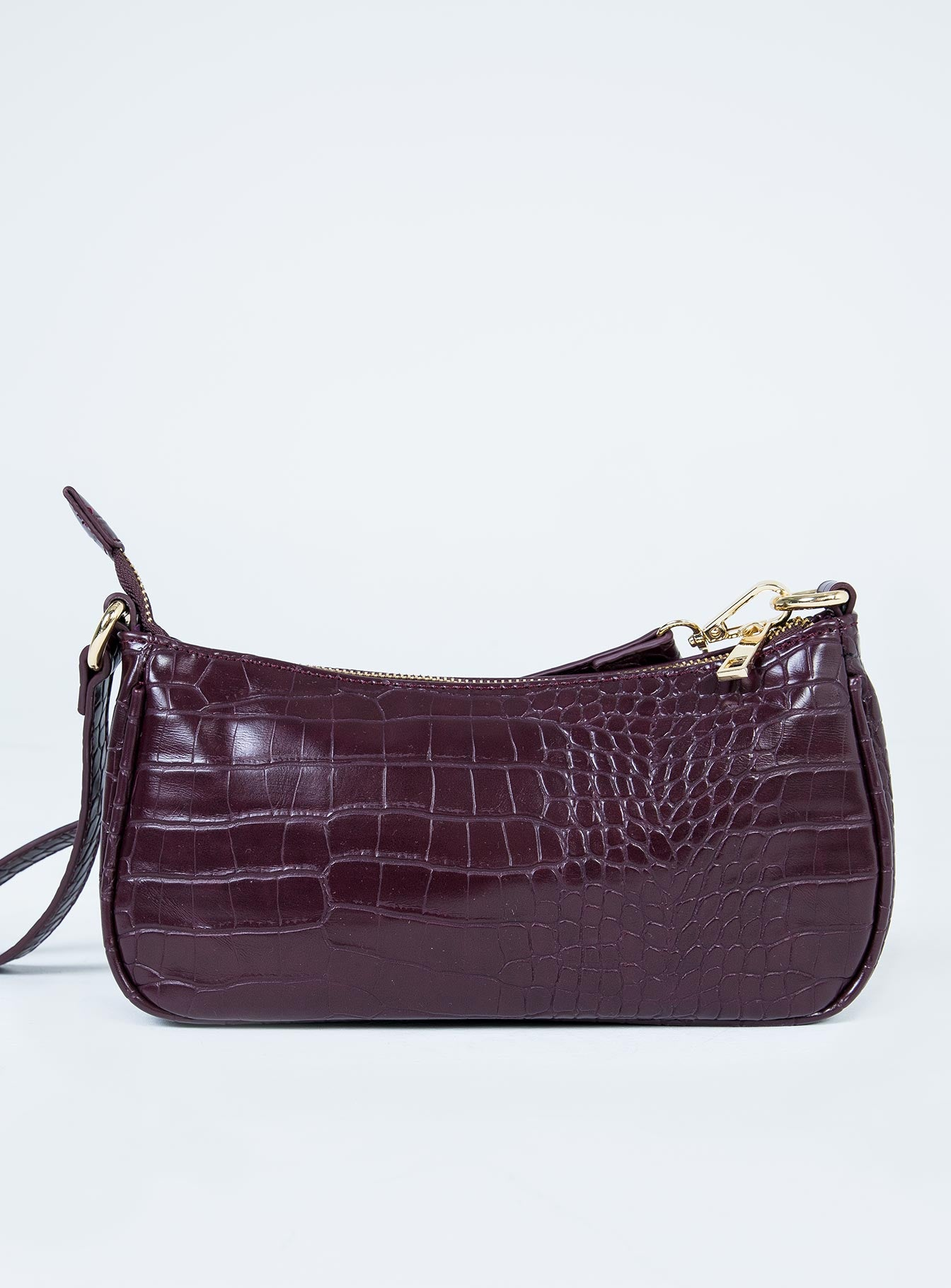 Peta & Jain Piper Bag Plum Croc