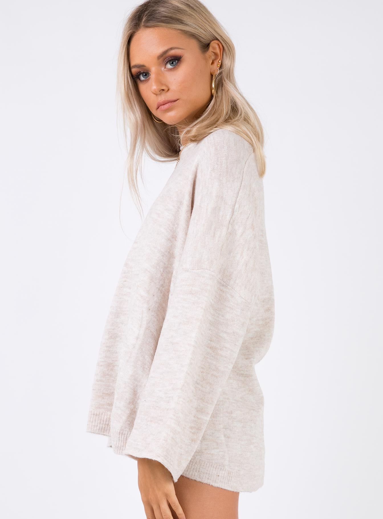Snuggle Up Jumper Cream