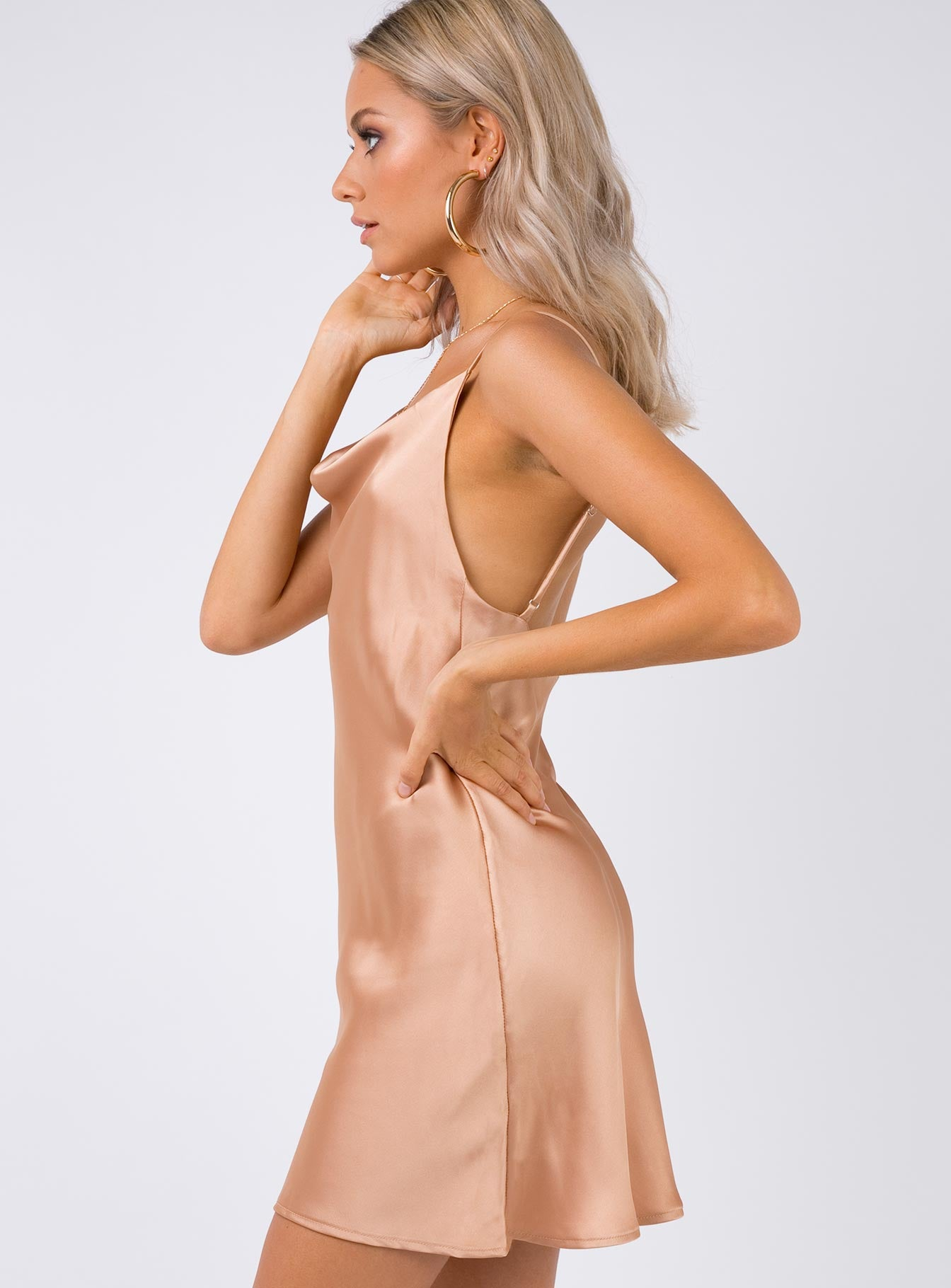 Betta Vanore Mini Dress Champagne