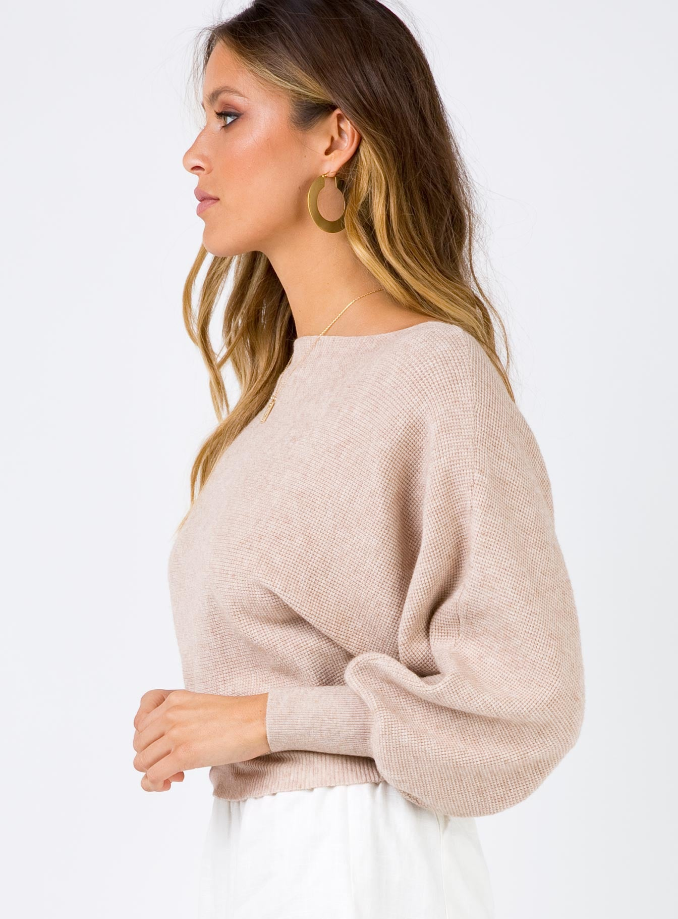 Atomic Love Jumper Beige