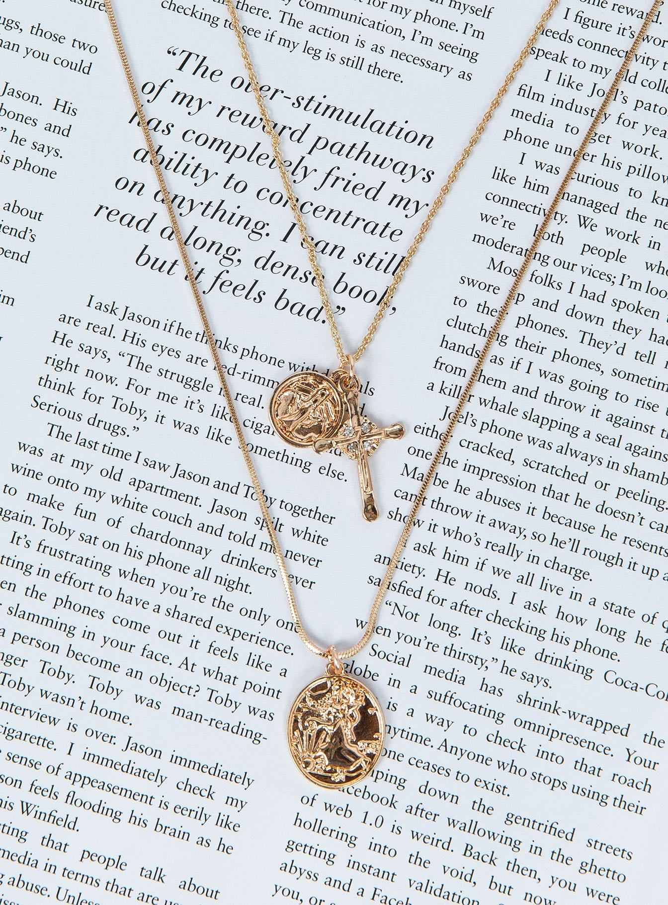 San Marco Layered Necklace Gold