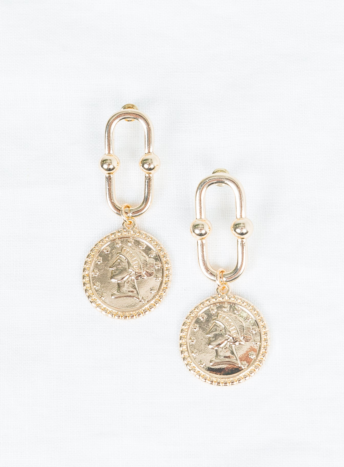 Old Gold Earrings