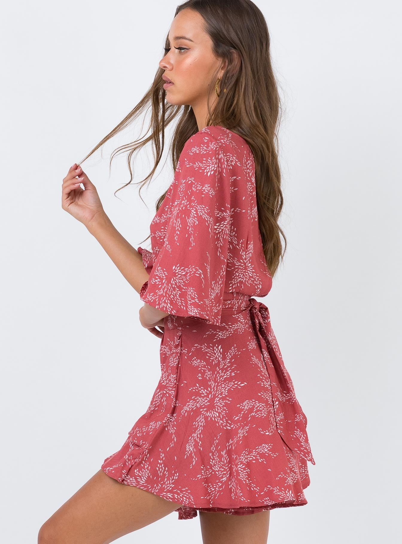 The Louie Romper Rose