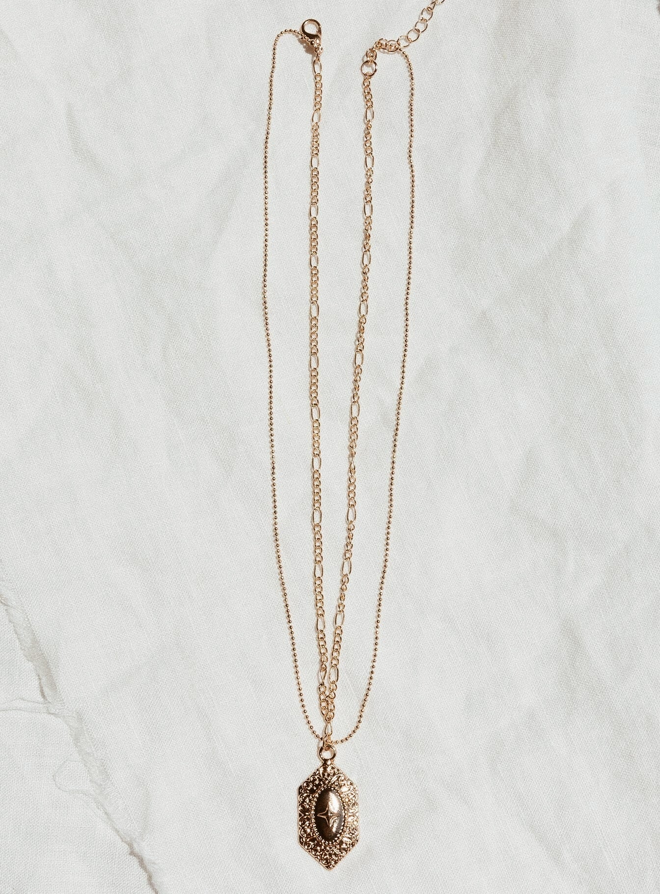 Boschetti Necklace Gold