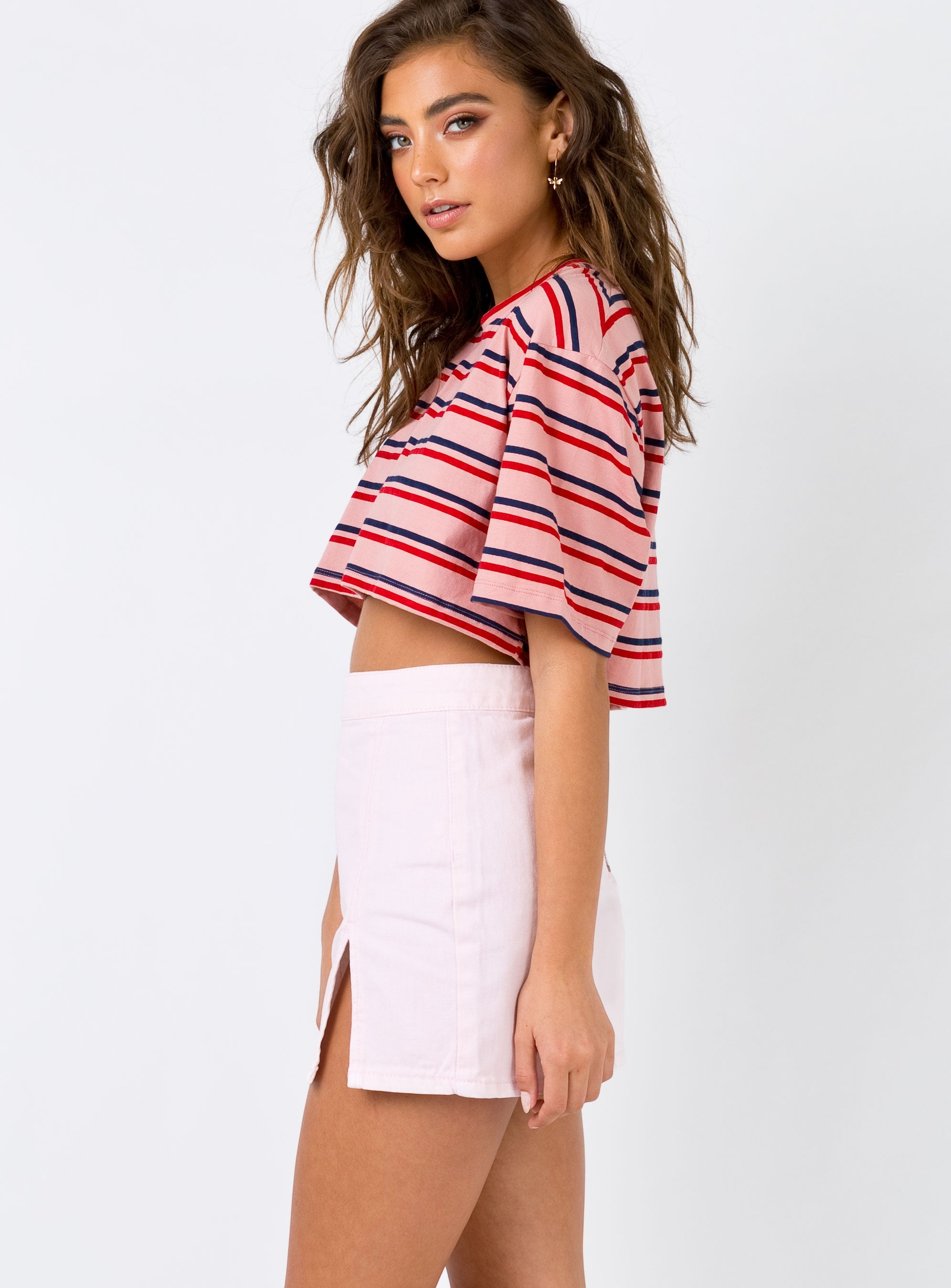 The Lola Mini Skirt Pink