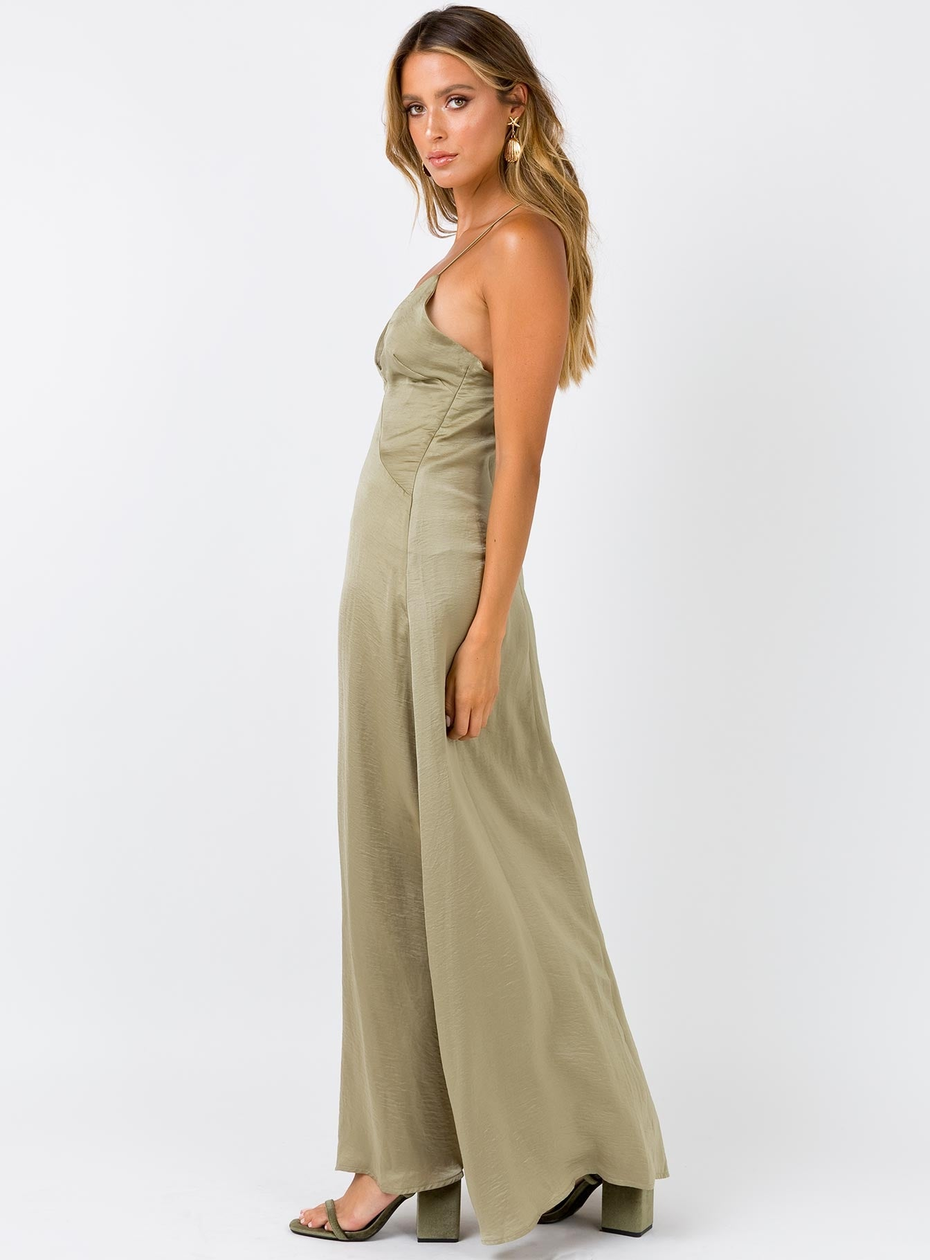 Like I Do Maxi Dress Sage
