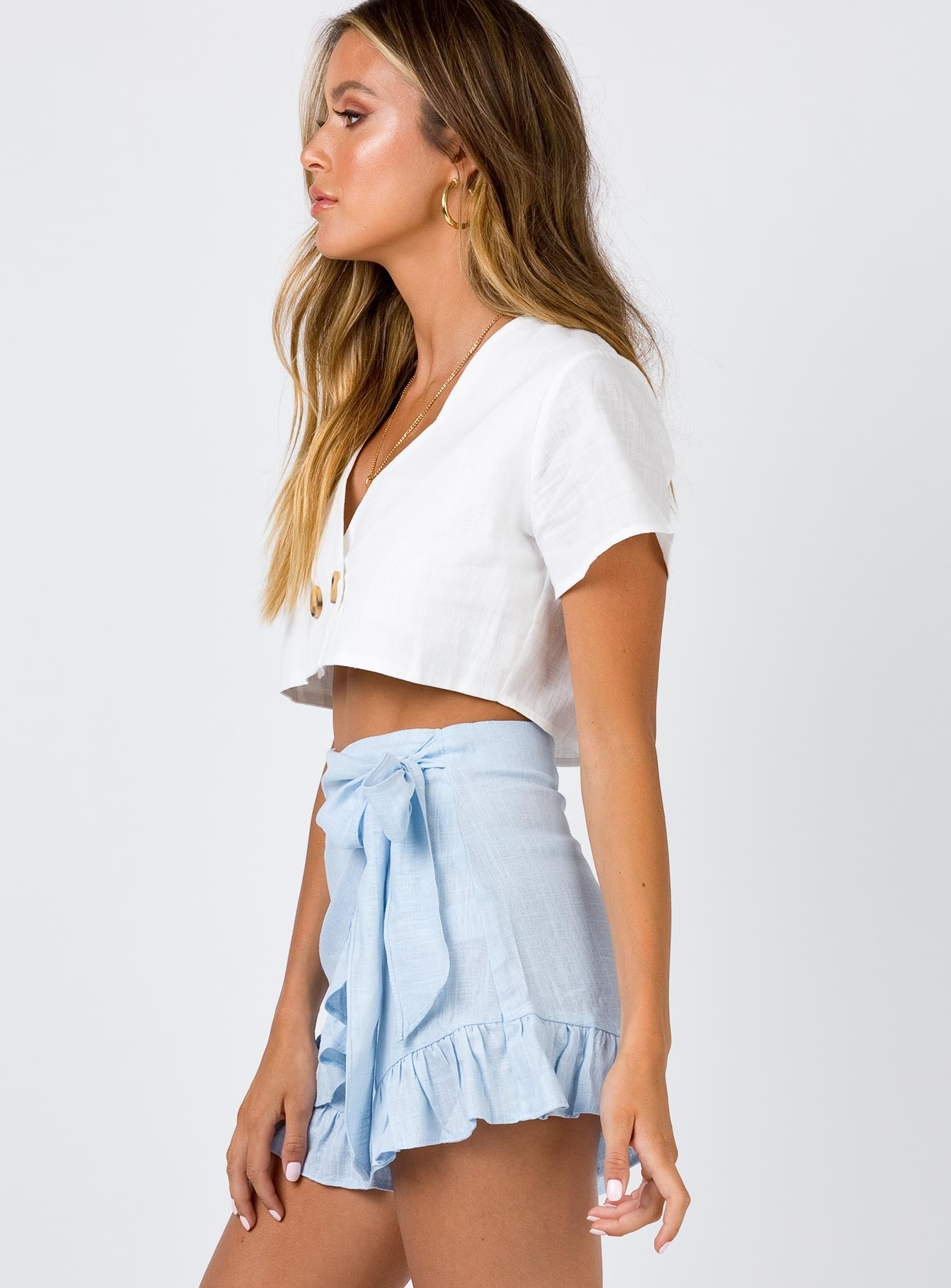 Herring Shorts Powder Blue