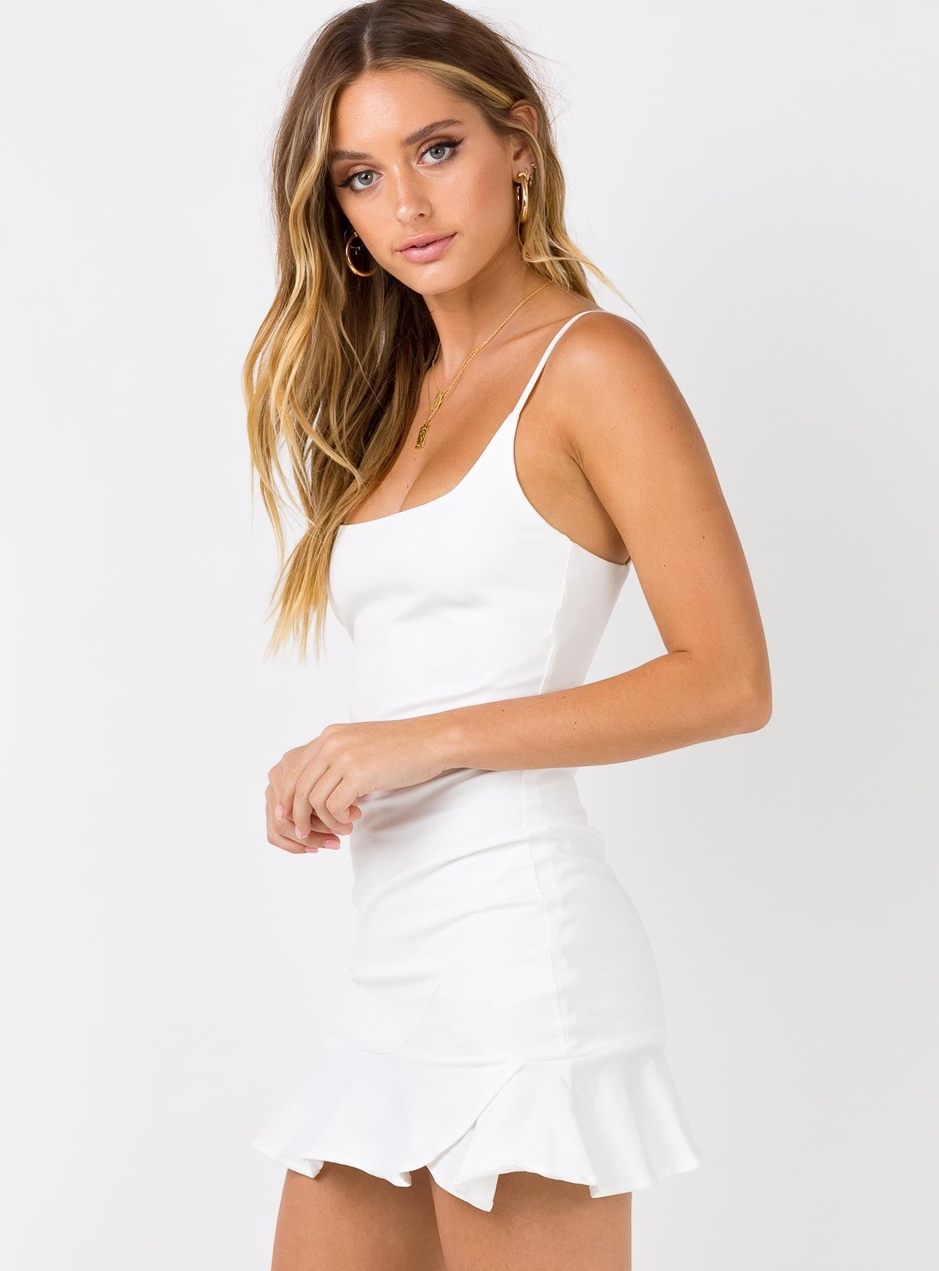 Kiribati Mini Dress White