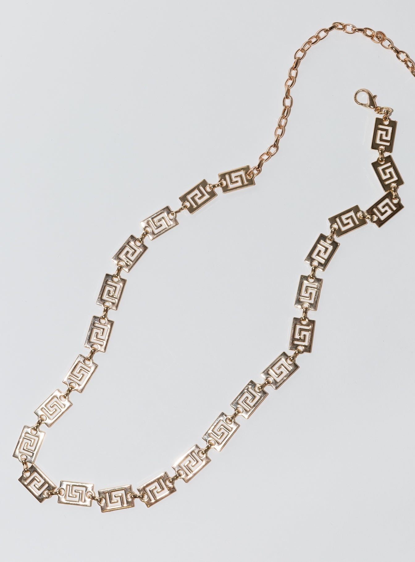 Messalina Chain Belt Gold