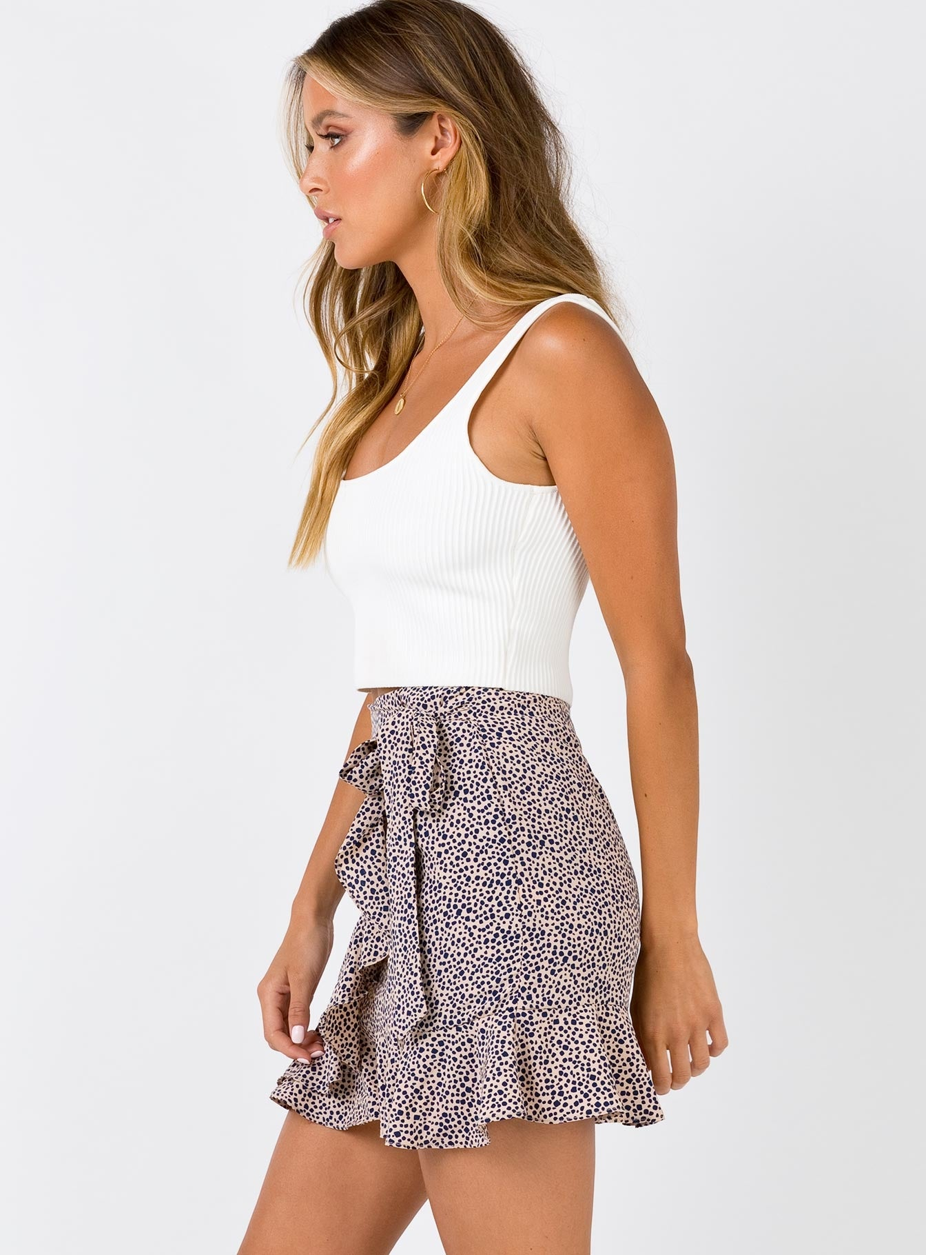 Mali Mini Skirt Tan