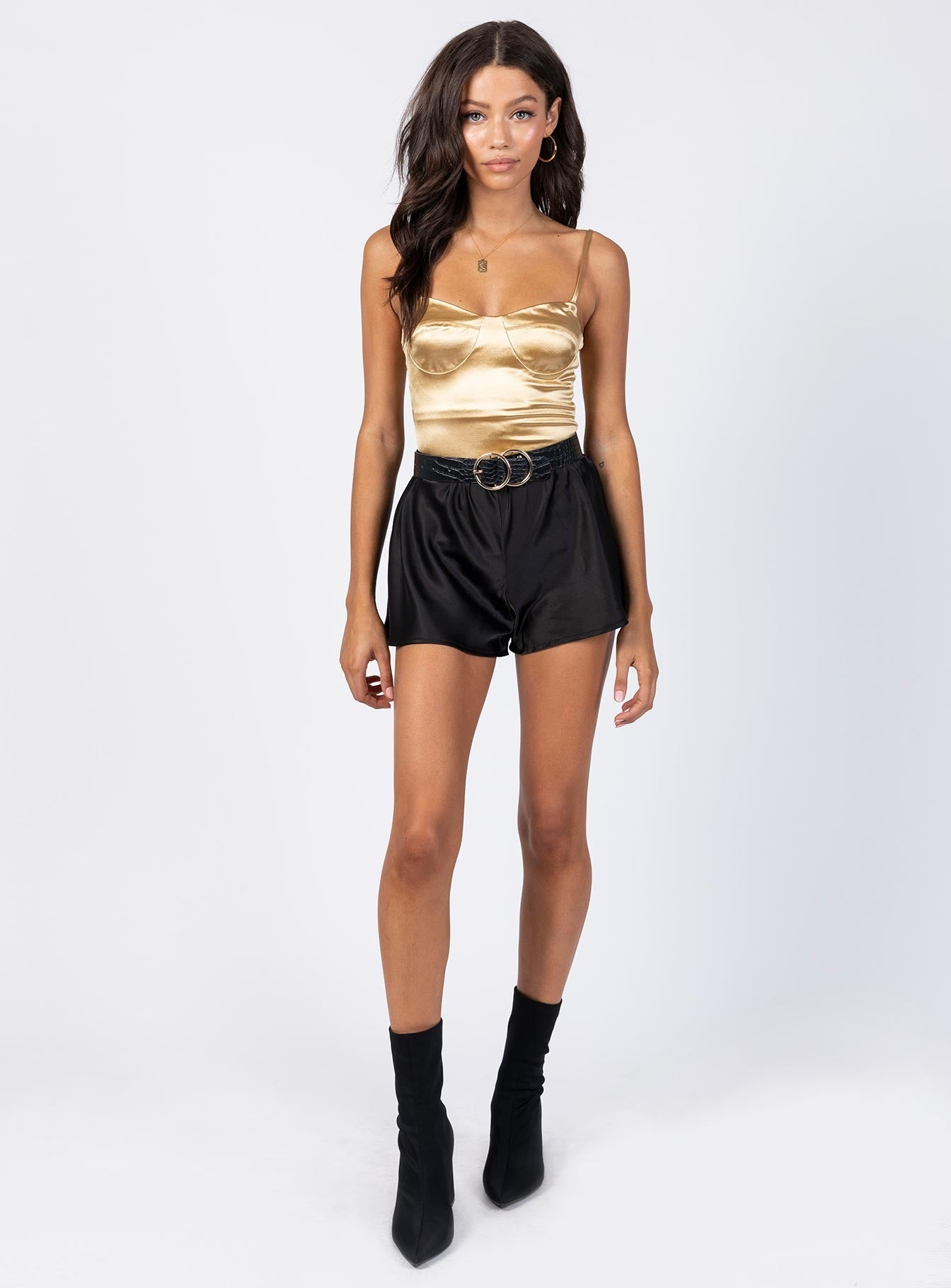The Frank Bodysuit Gold