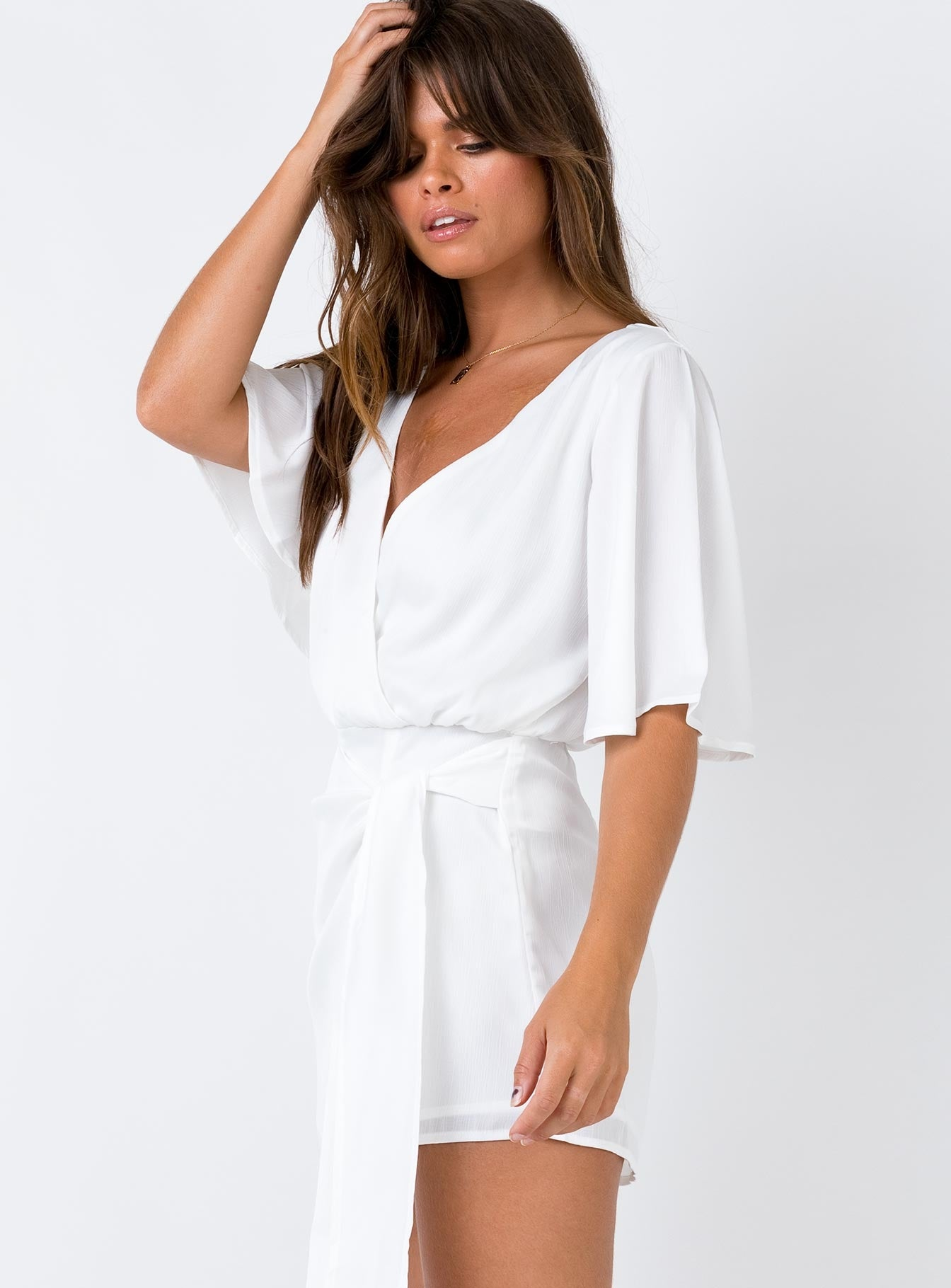 The Saved Romper White