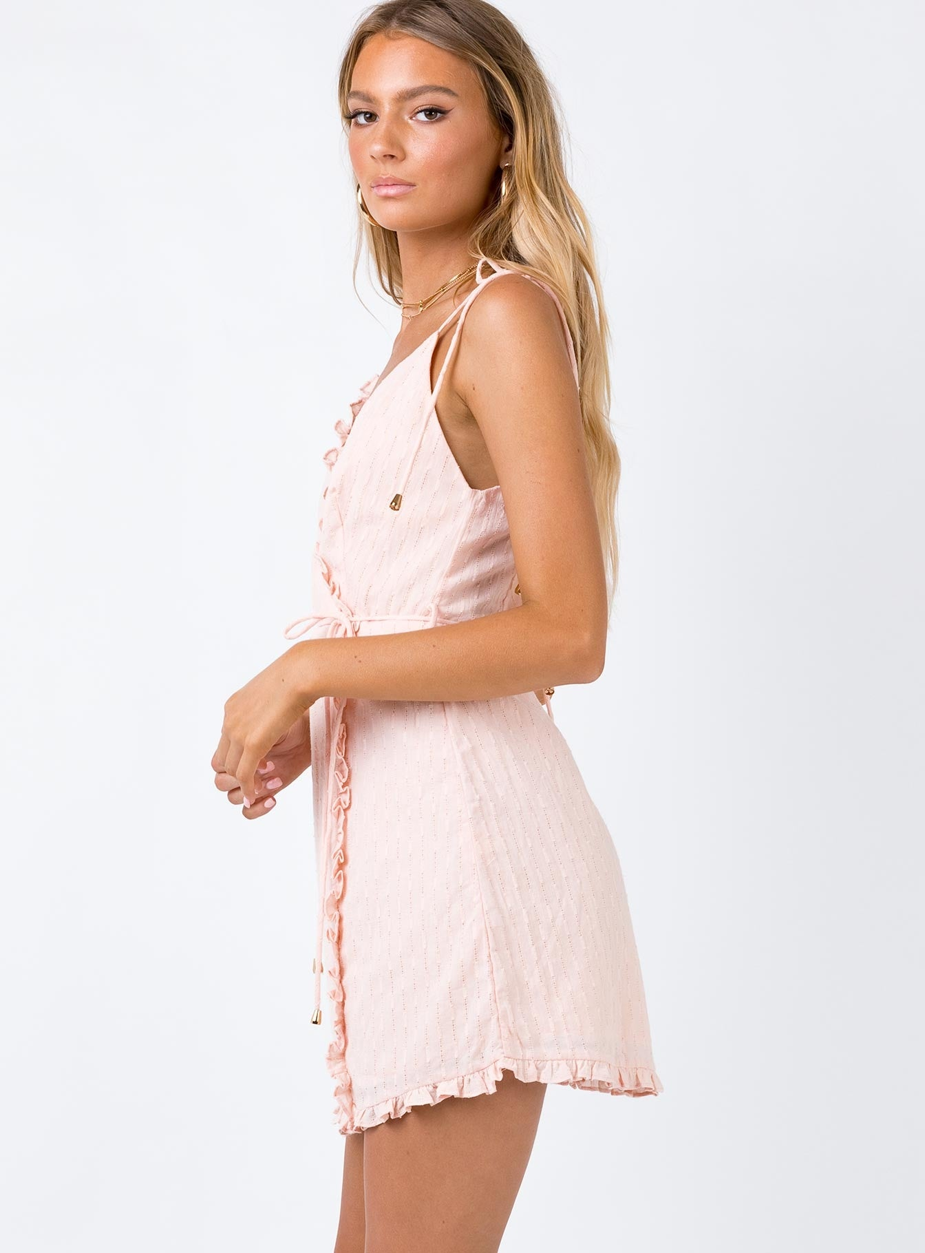 Lambada Mini Dress Blush
