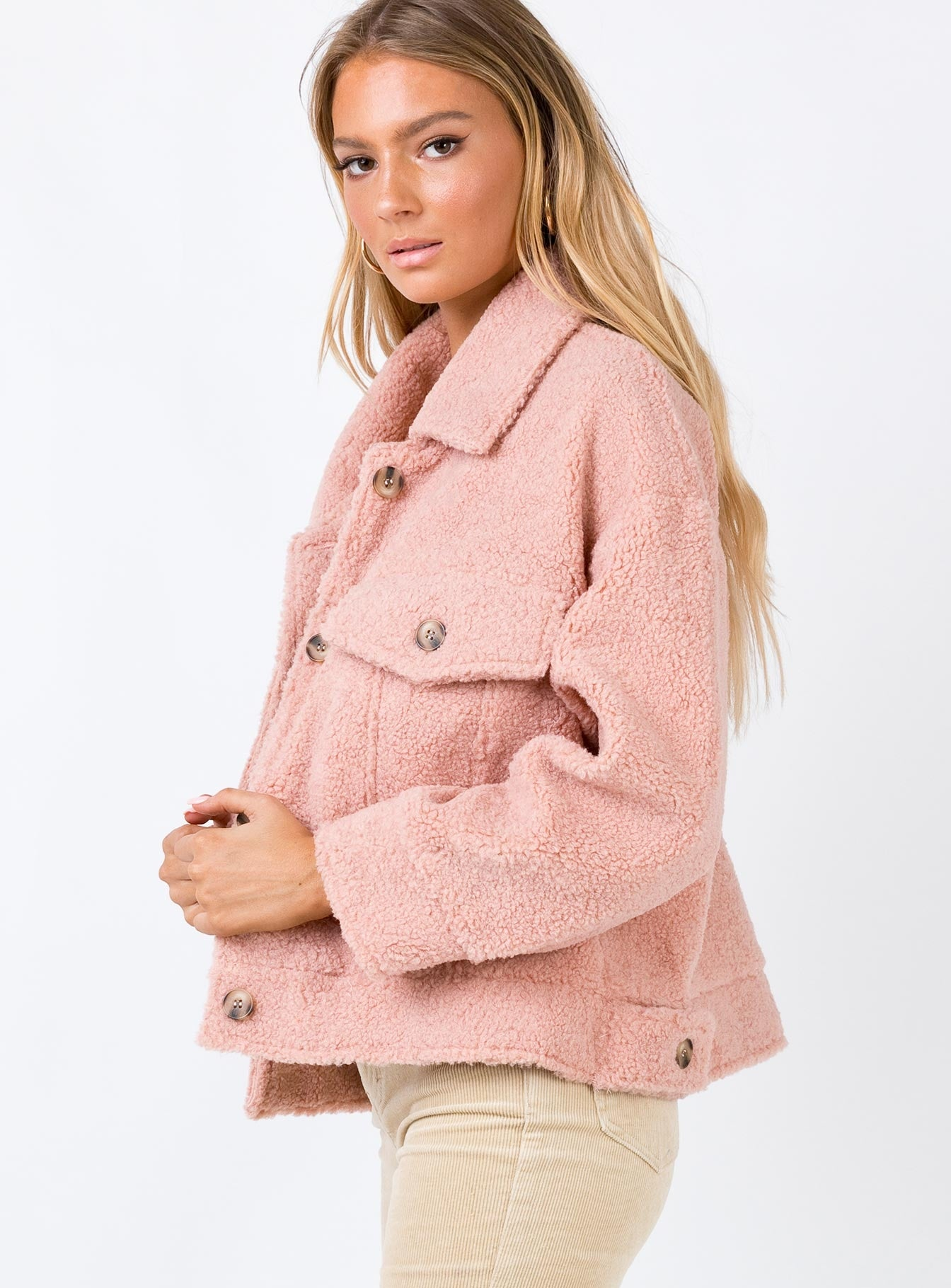 The Heritage Jacket Blush