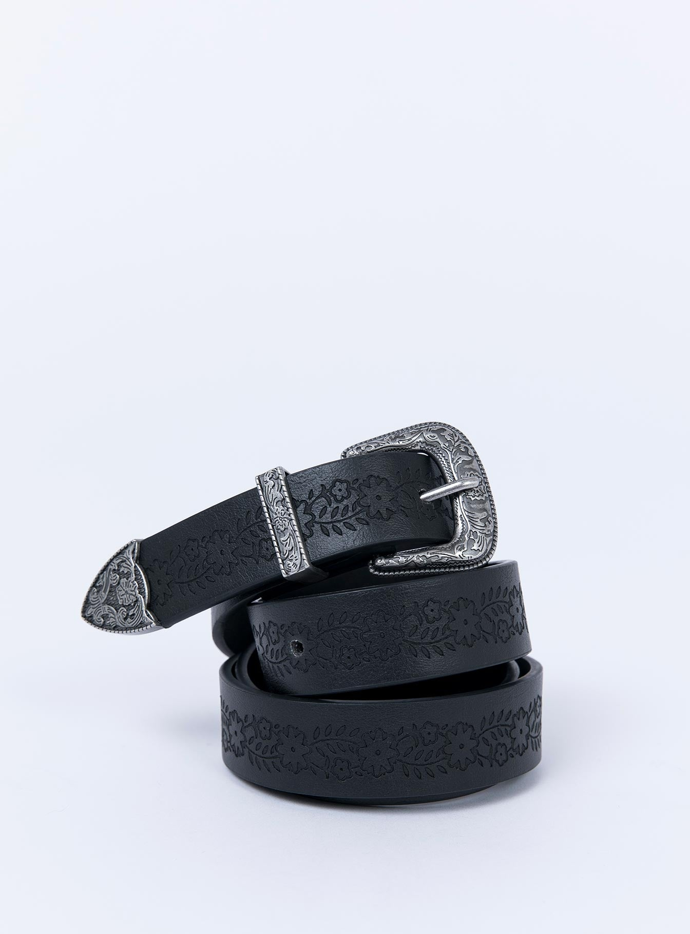 Nobody Else Western Belt Black