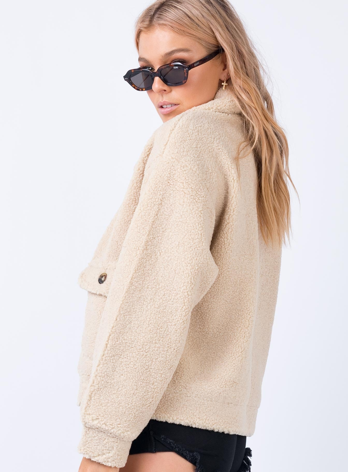 The Roxette Jacket Beige