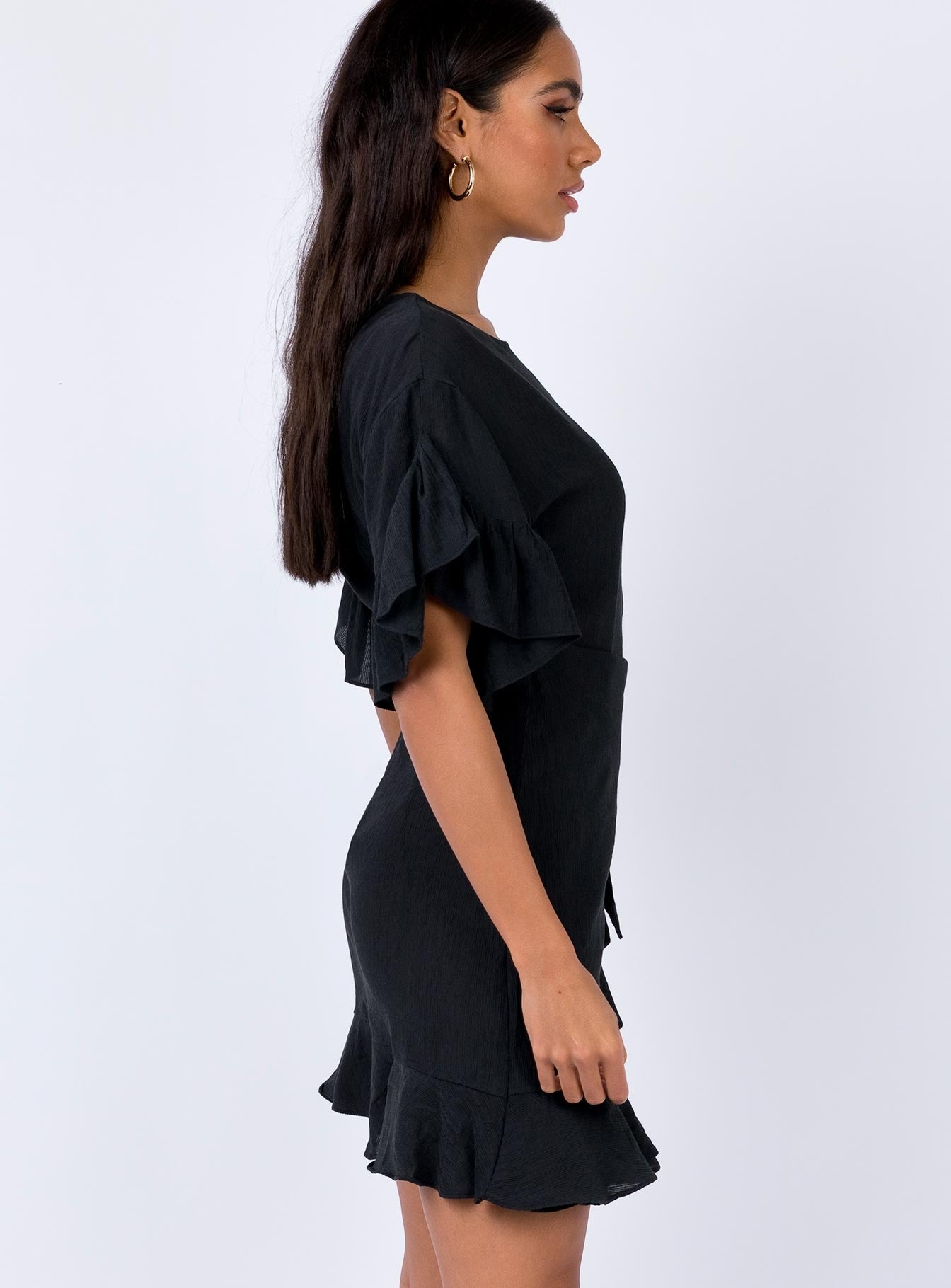 Kirvin Mini Dress Black