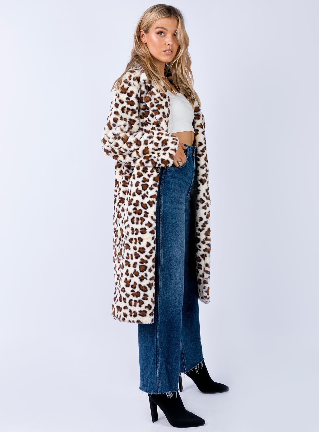 Lady Leopard Coat