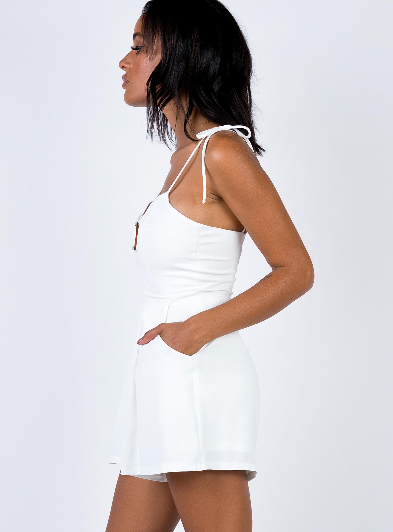 Rylstone Playsuit White