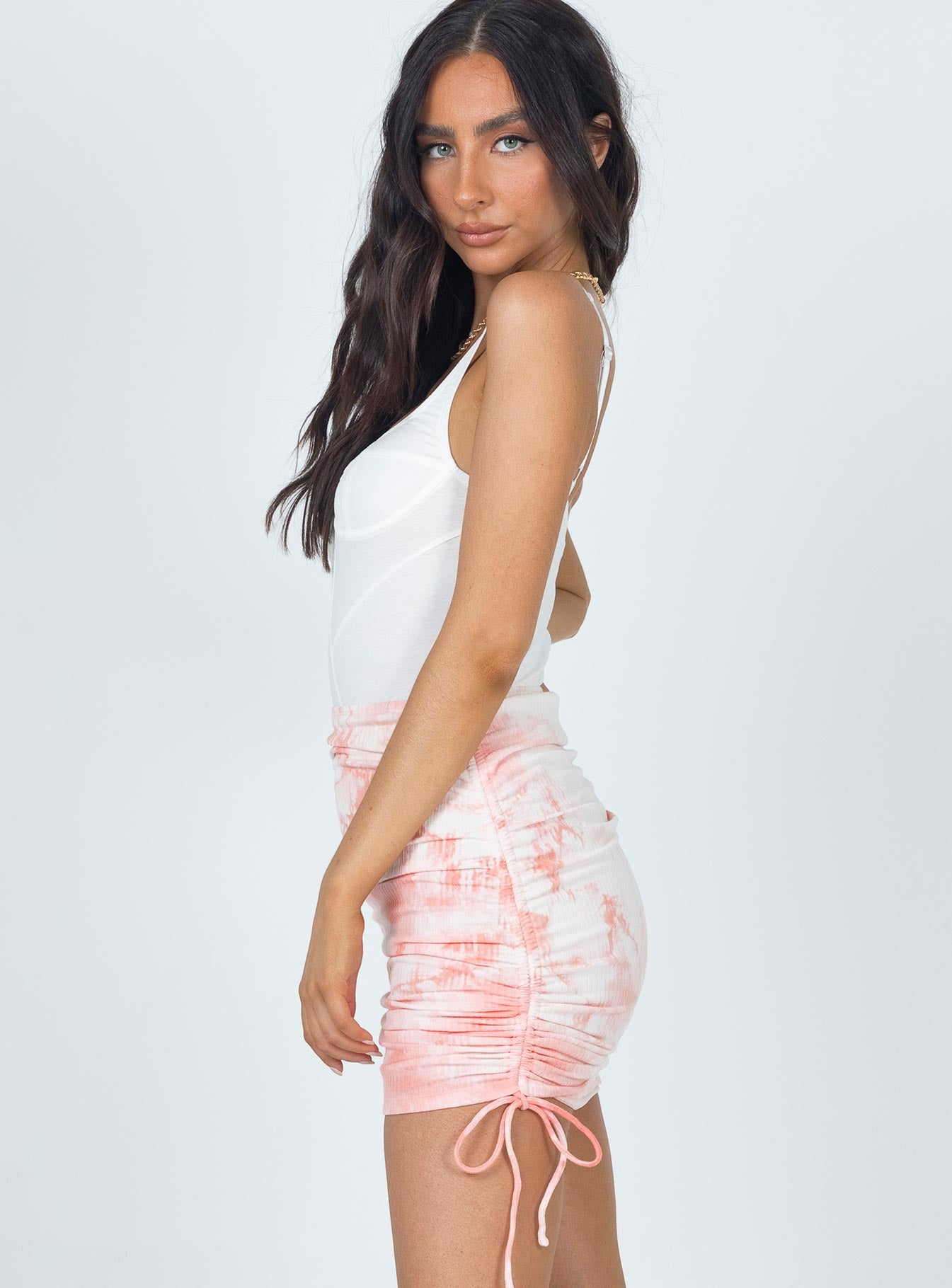 James Mini Skirt Pink