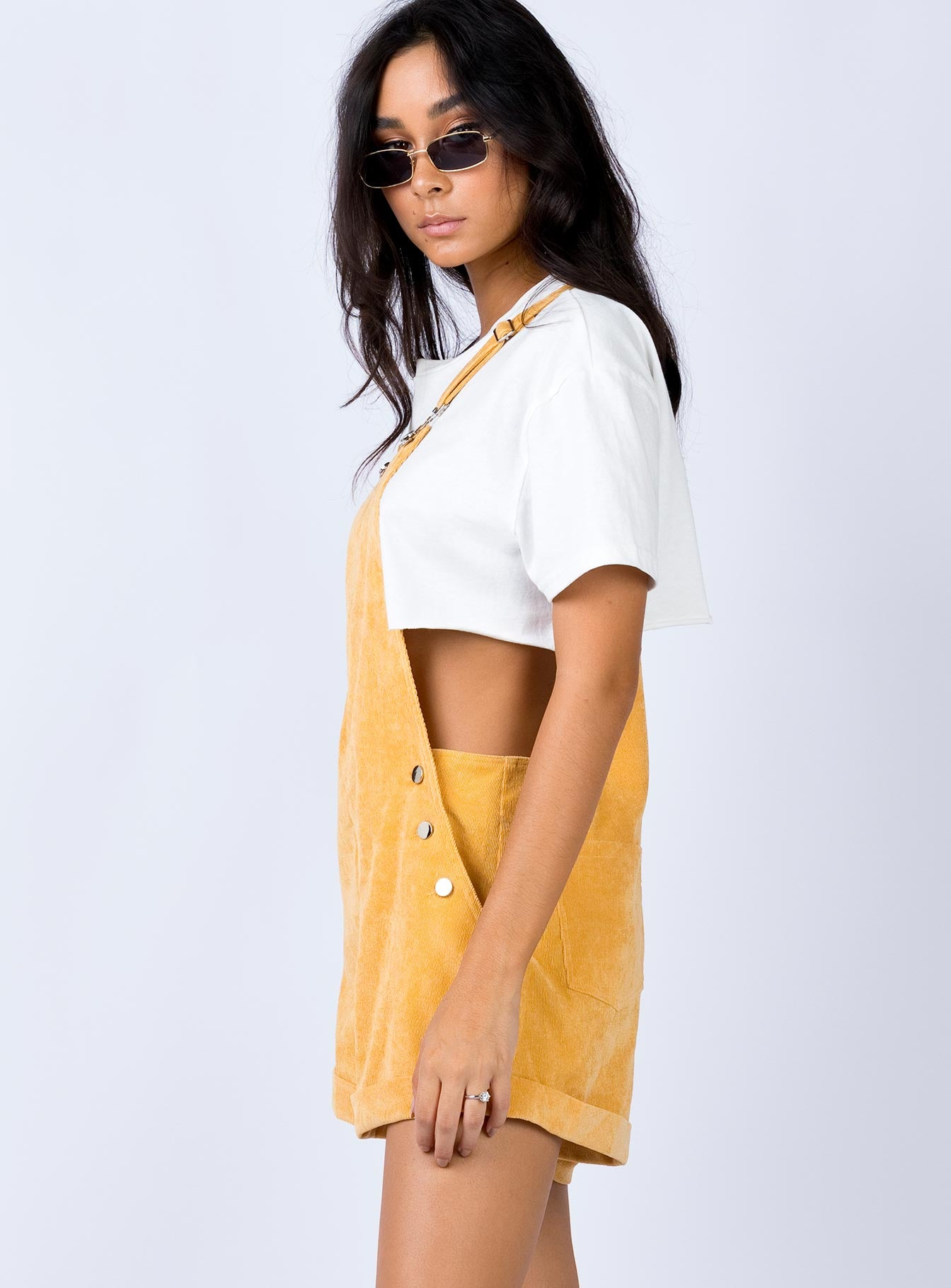 Staveley Overalls Yellow