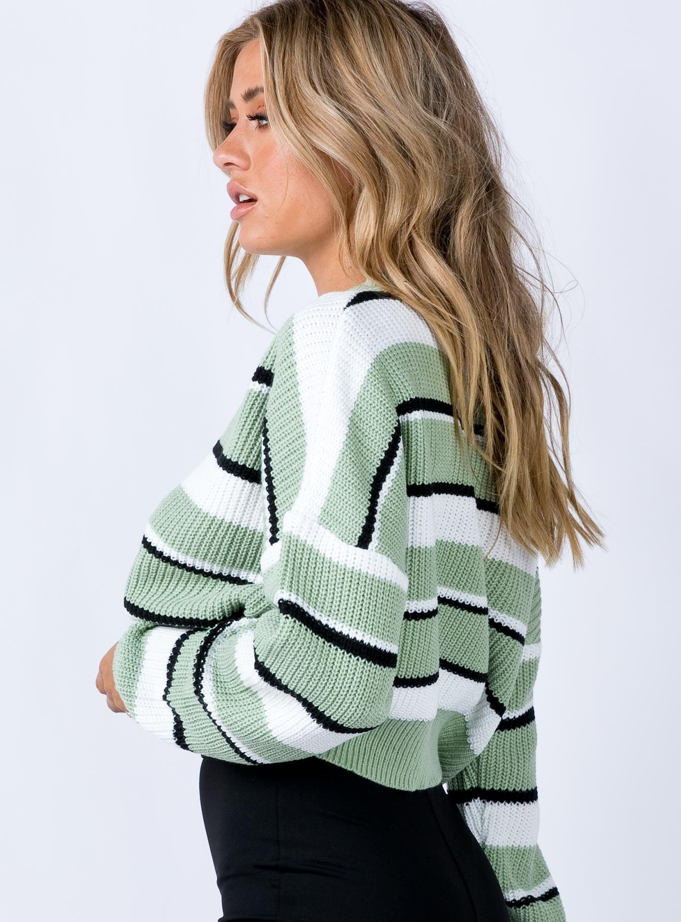 The Alton Jumper Green
