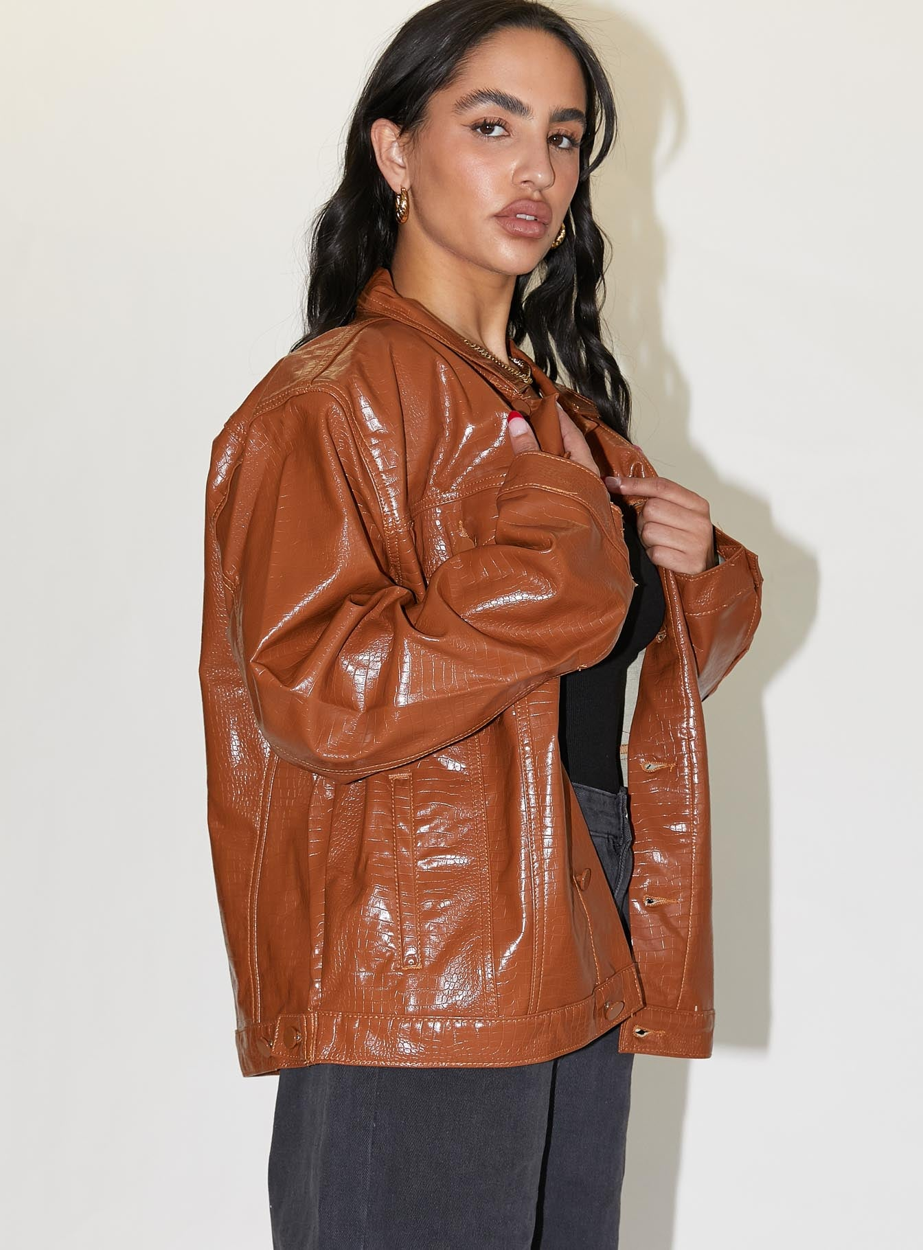 Sidewalks Jacket Brown