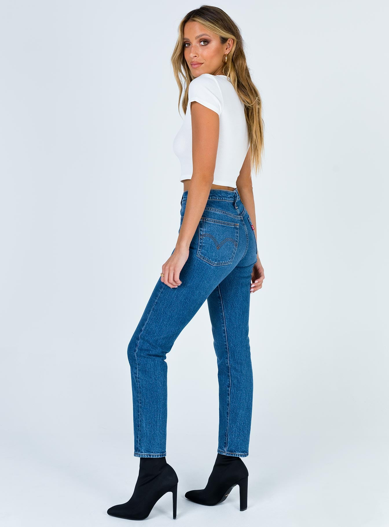 Levi's Wedgie Icon Fit Charleston Moves Jeans