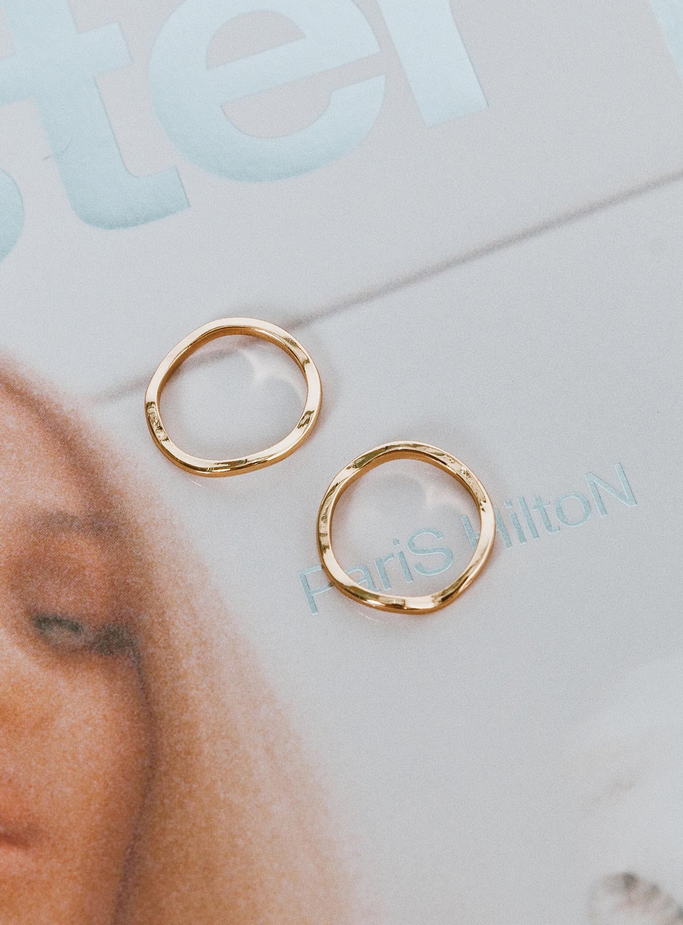 Minc Collections Cayenne Ring Set