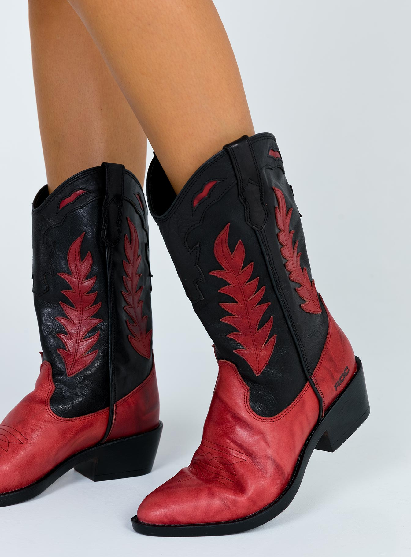 Roc Boots Australia India Boots Red/Black