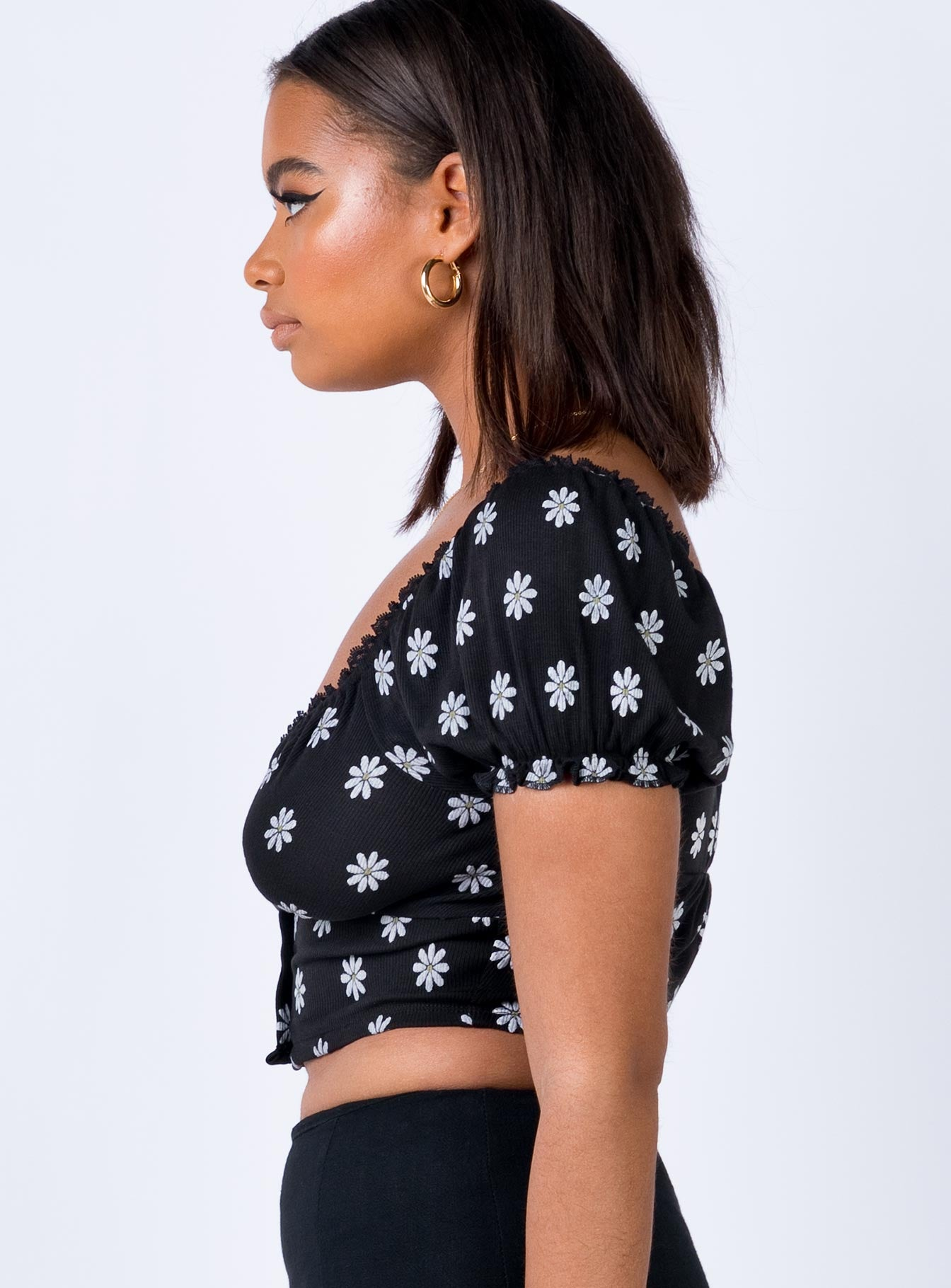 Tanwood Crop Top Black
