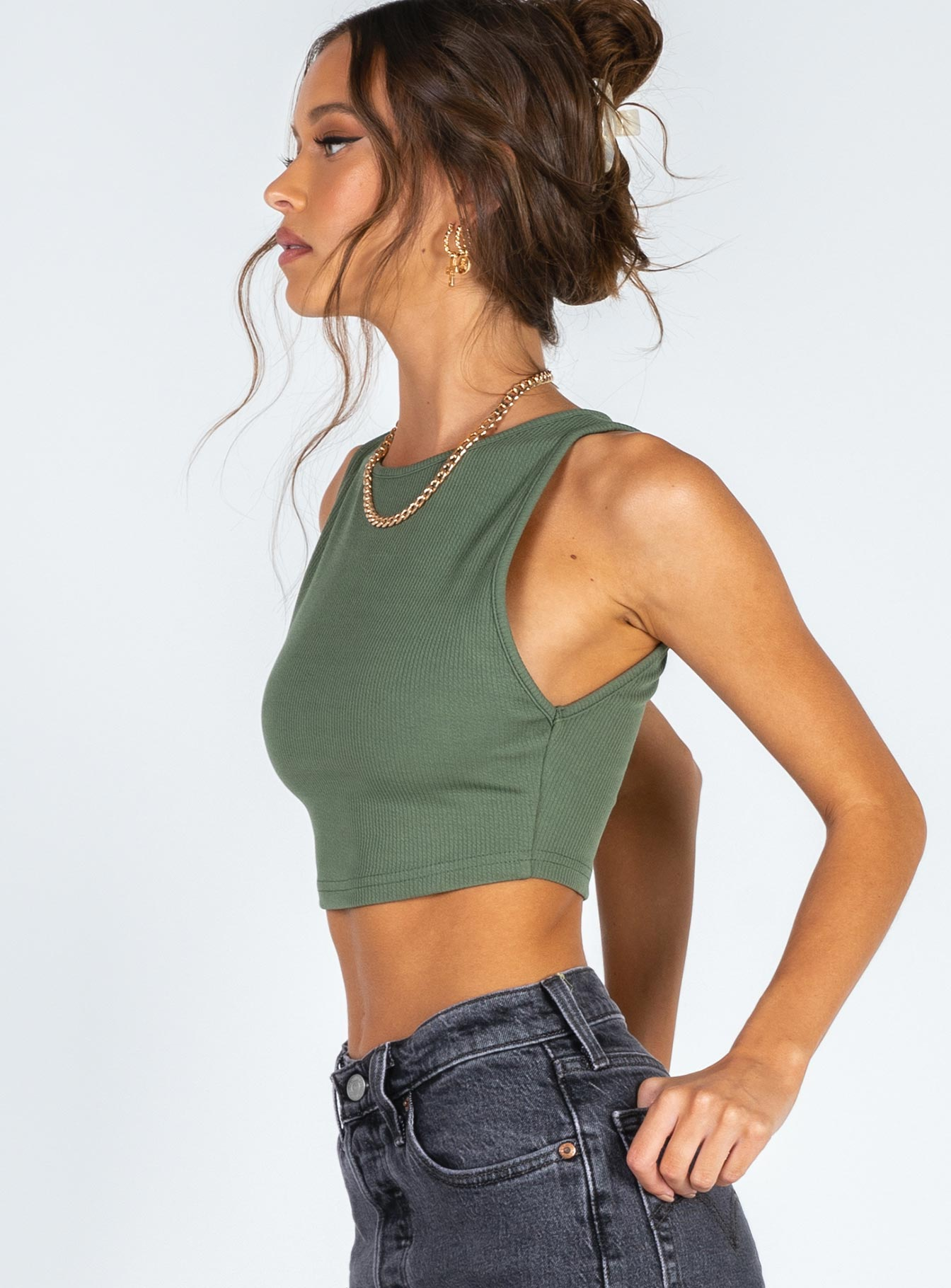 Laila Top Green