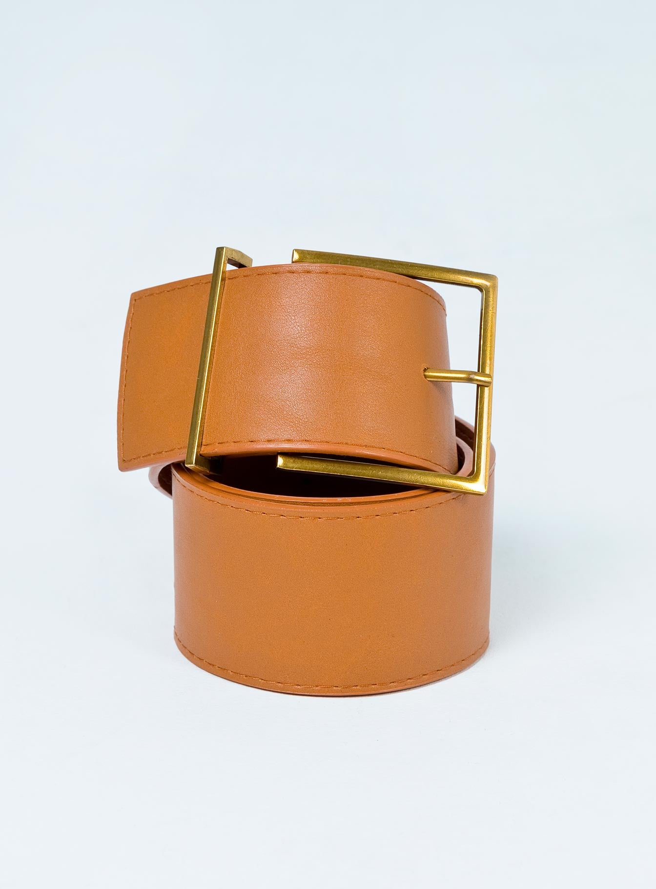Willow Wide Belt Tan