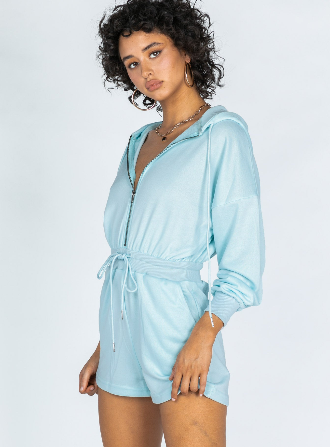 Tylor Romper Blue