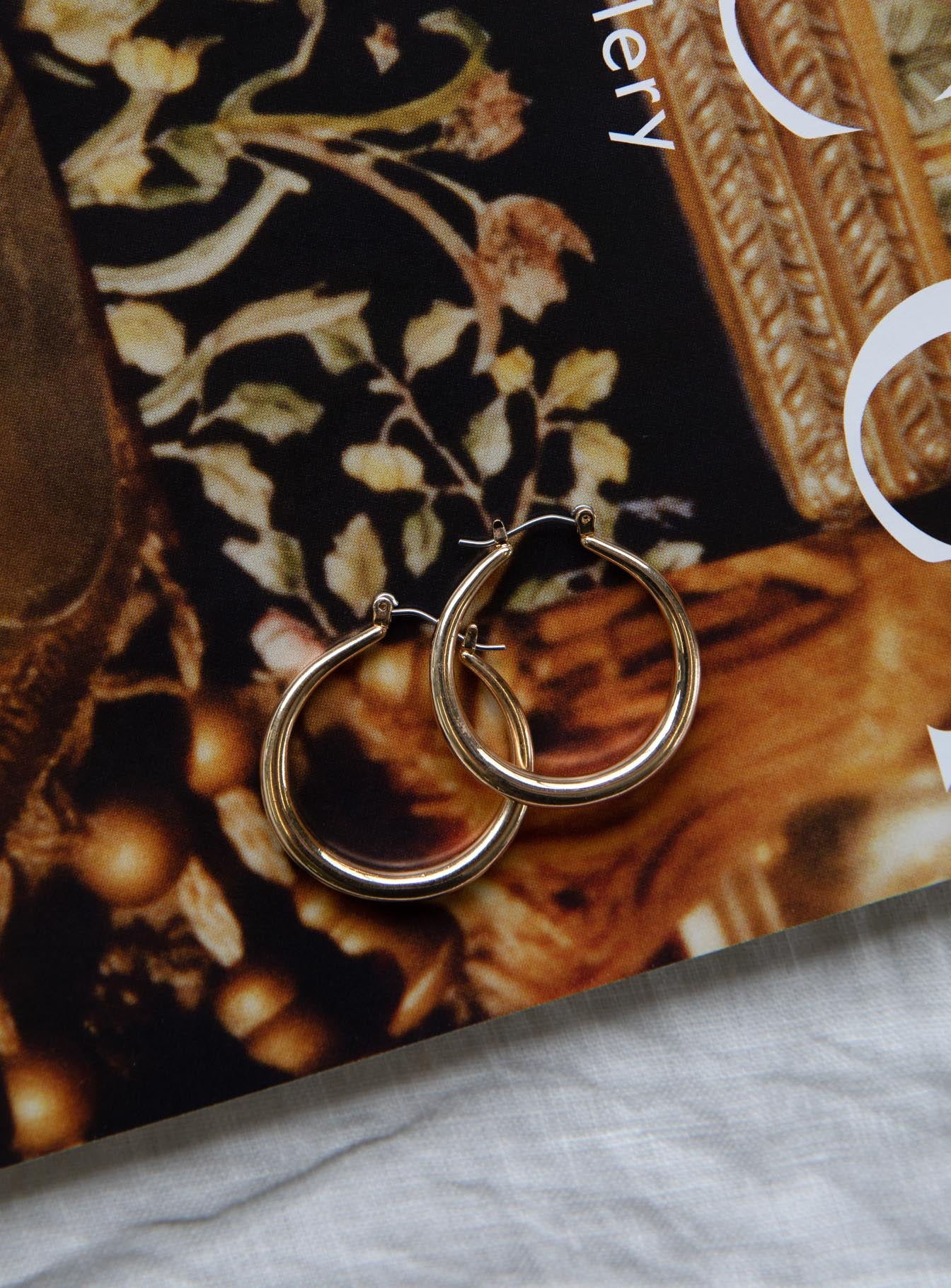 Get Funky Hoop Earrings