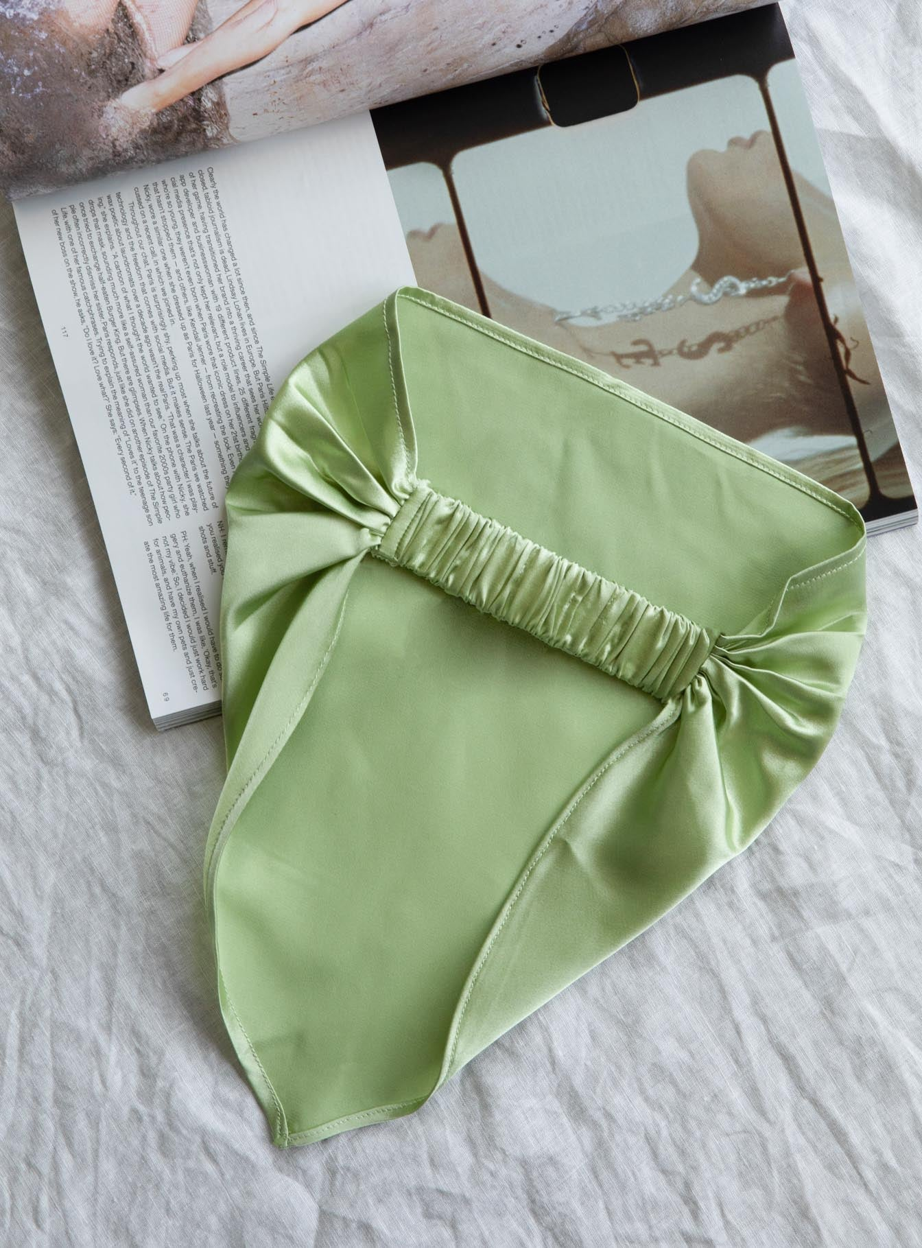 The Monaco Headband Green