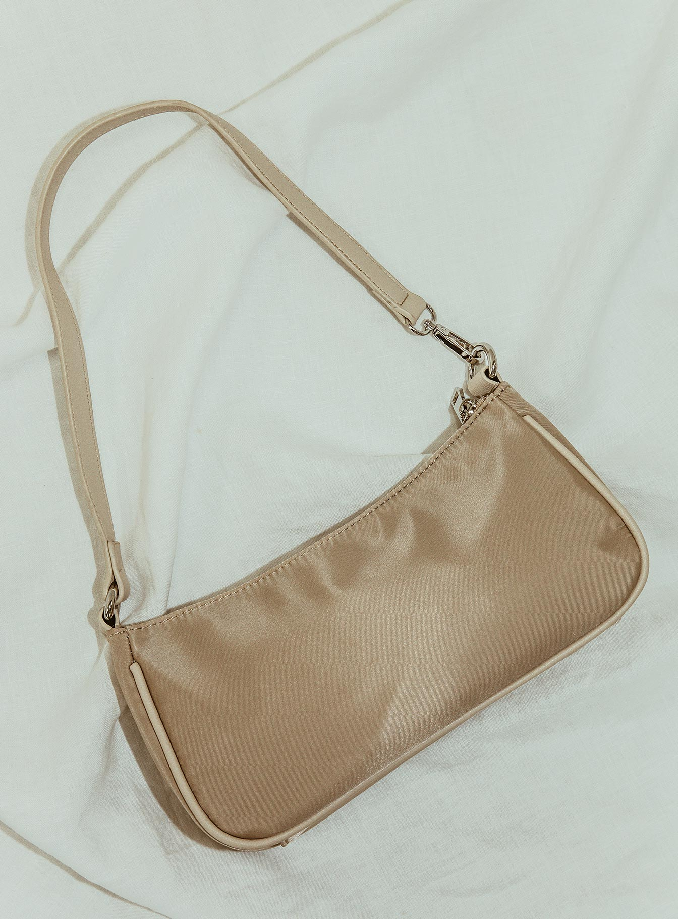 Peta & Jain Piper Bag Beige Nylon