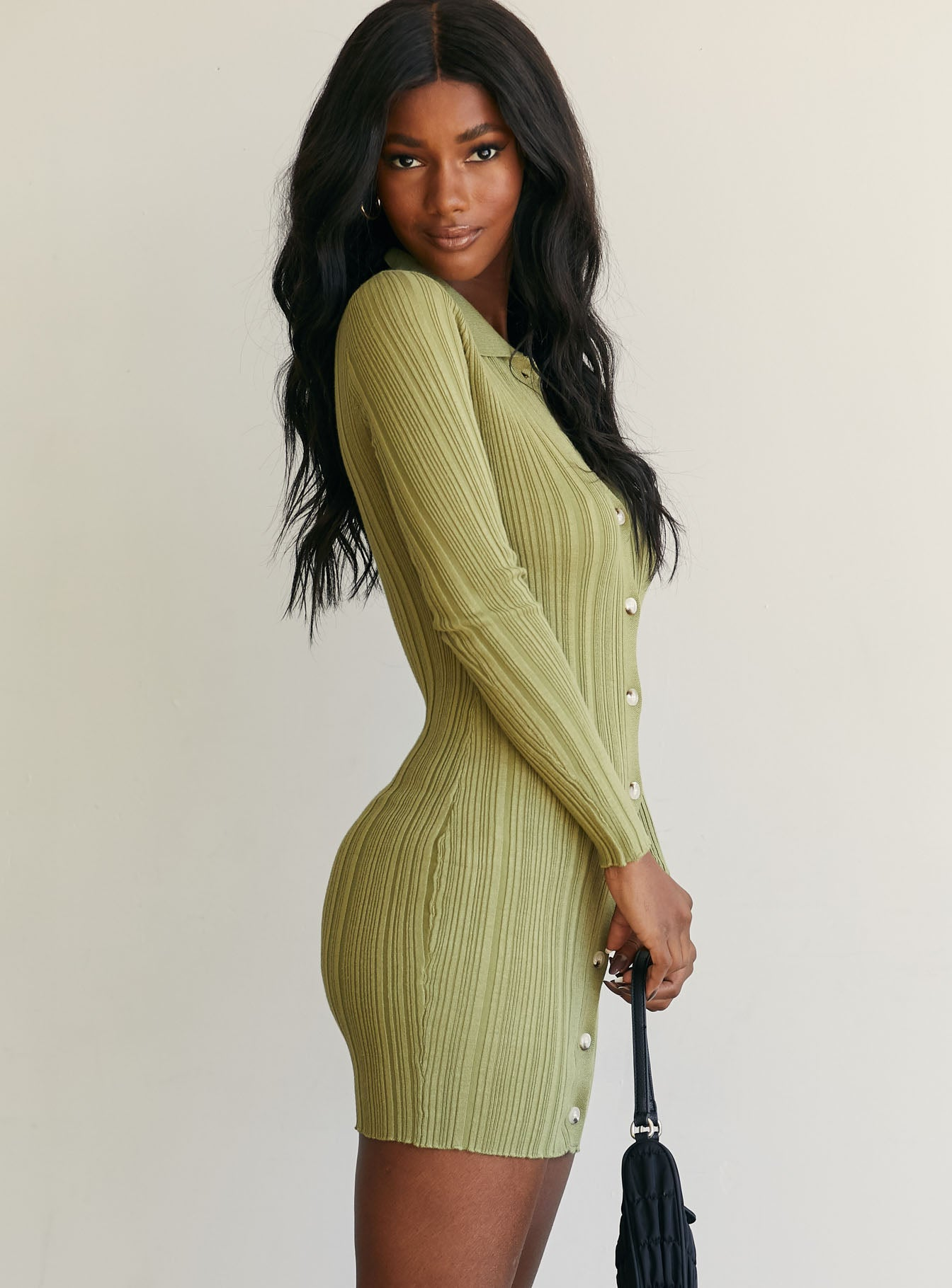 Monet Mini Dress Pistachio