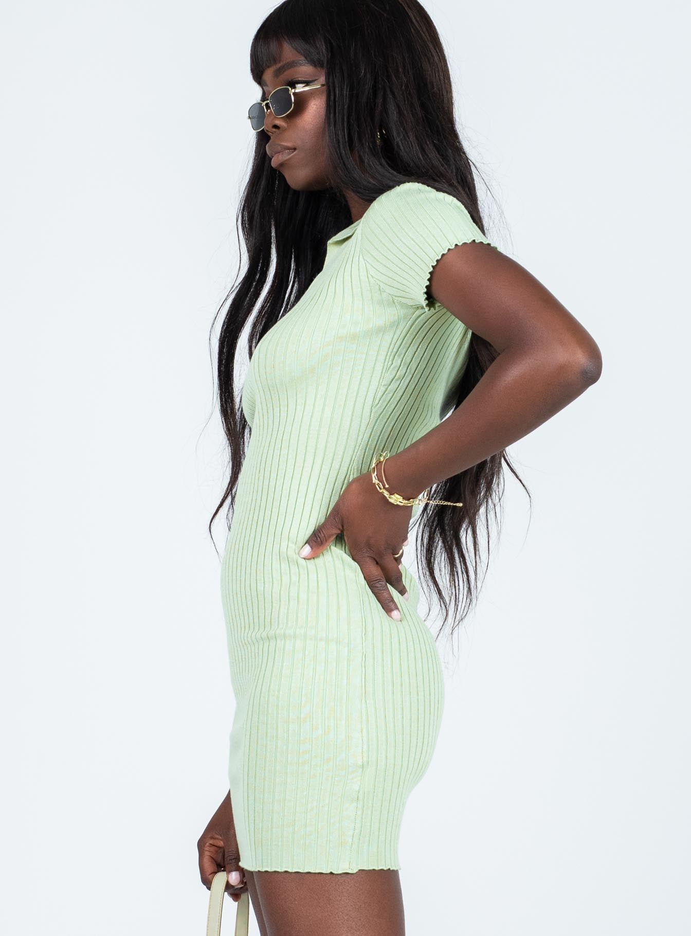 Penelope Mini Dress Green