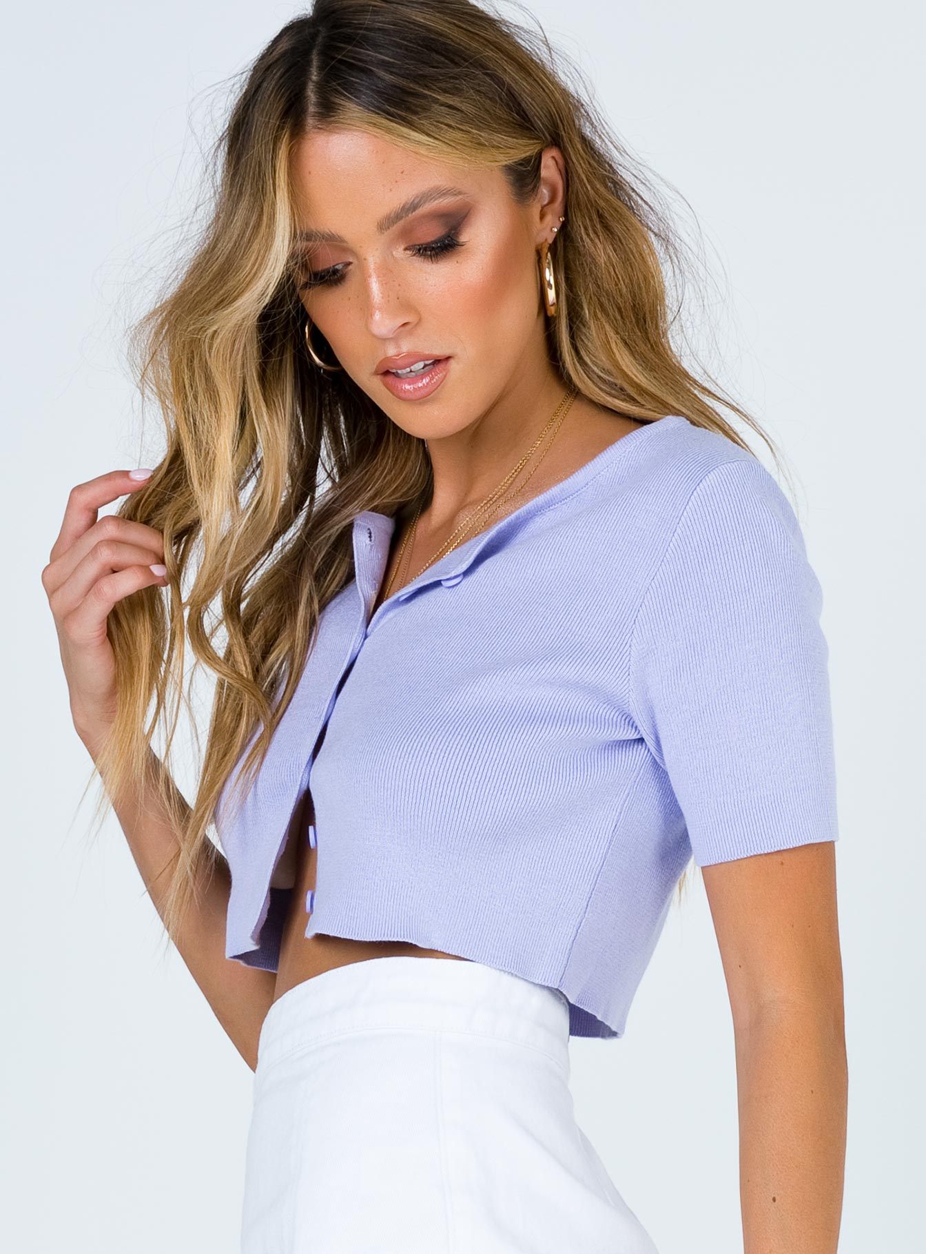 The Jayden Top Purple