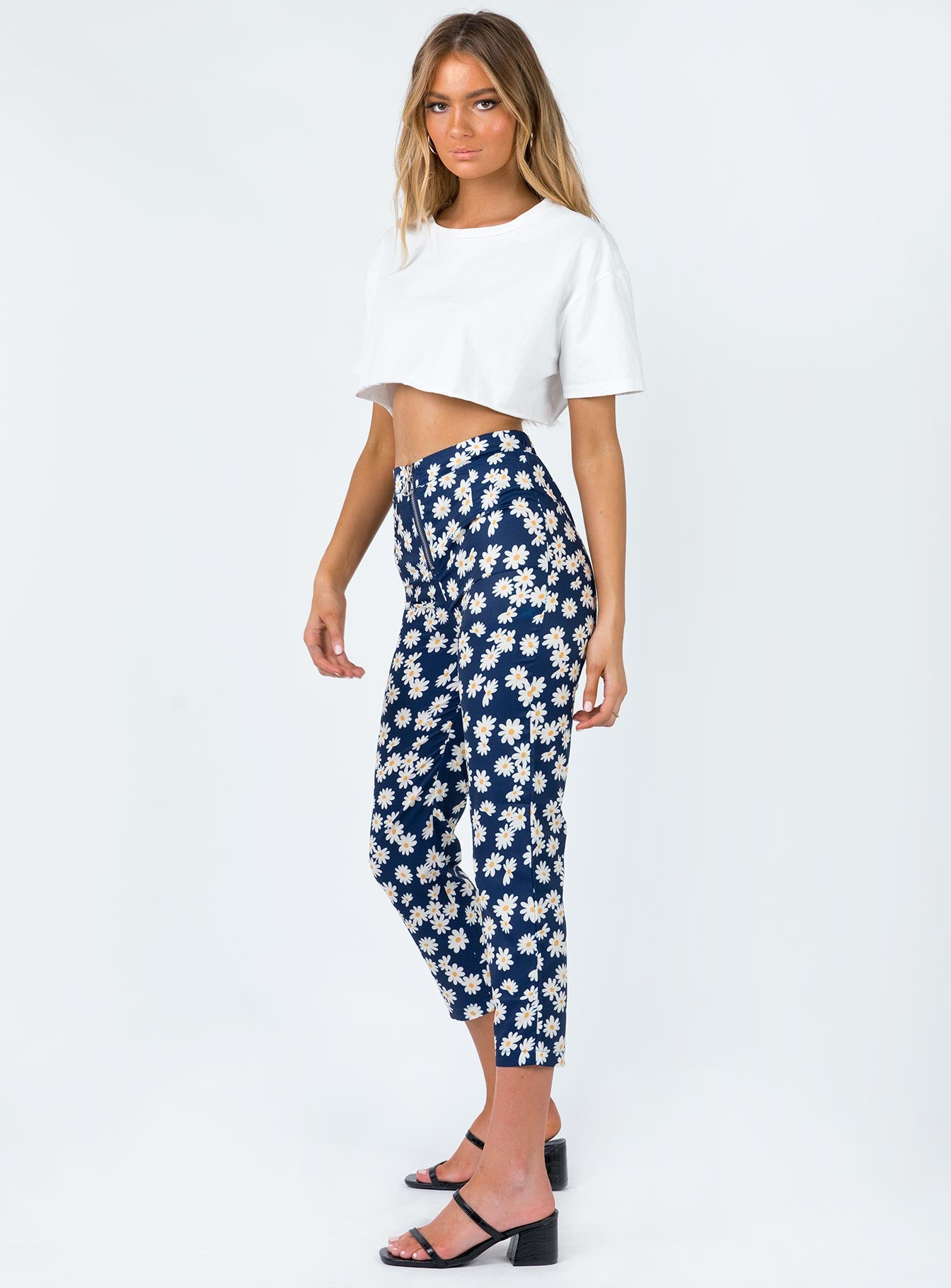 Leighton Pants Navy Floral
