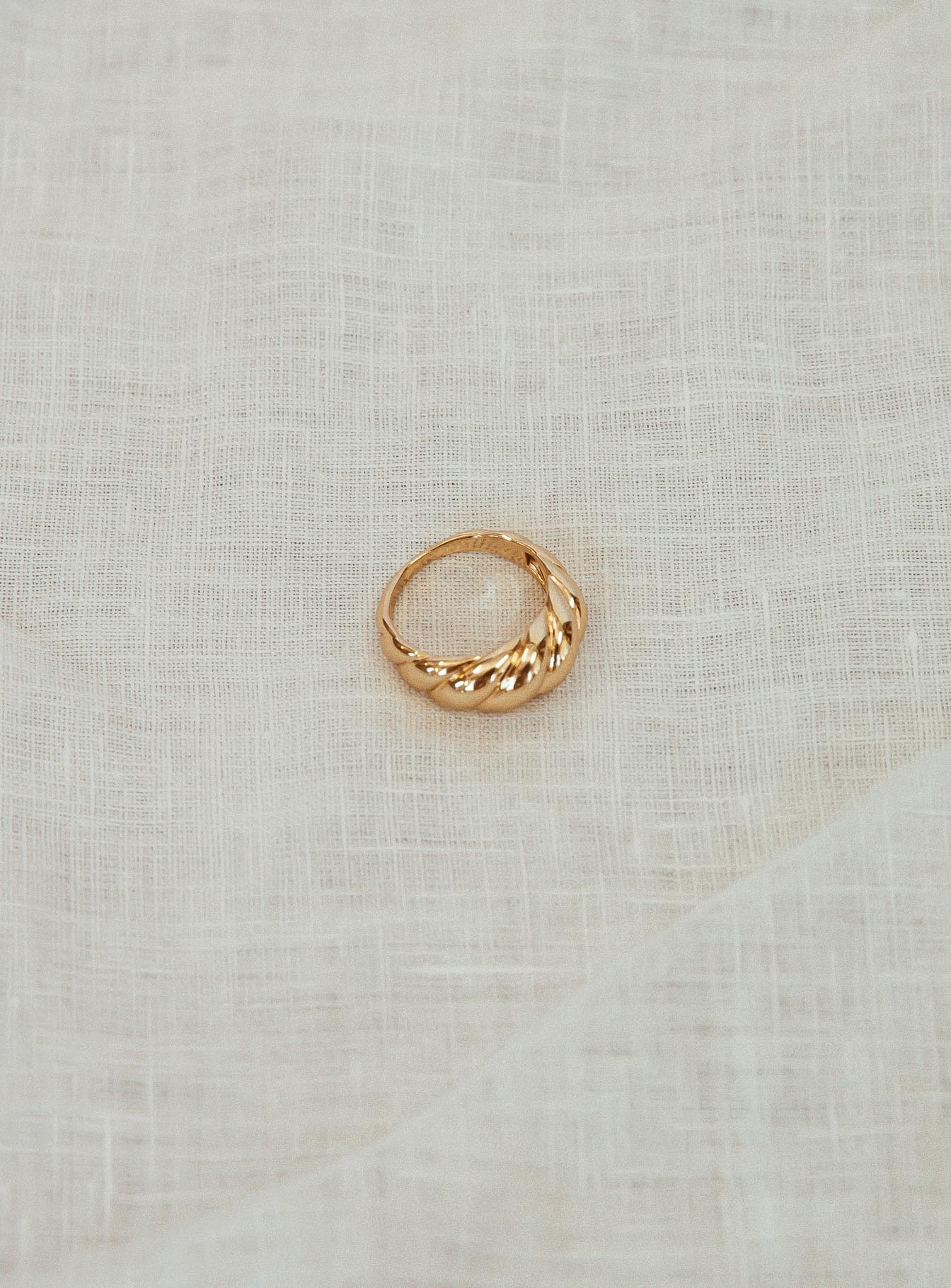 Antheia Gold Plated Ring