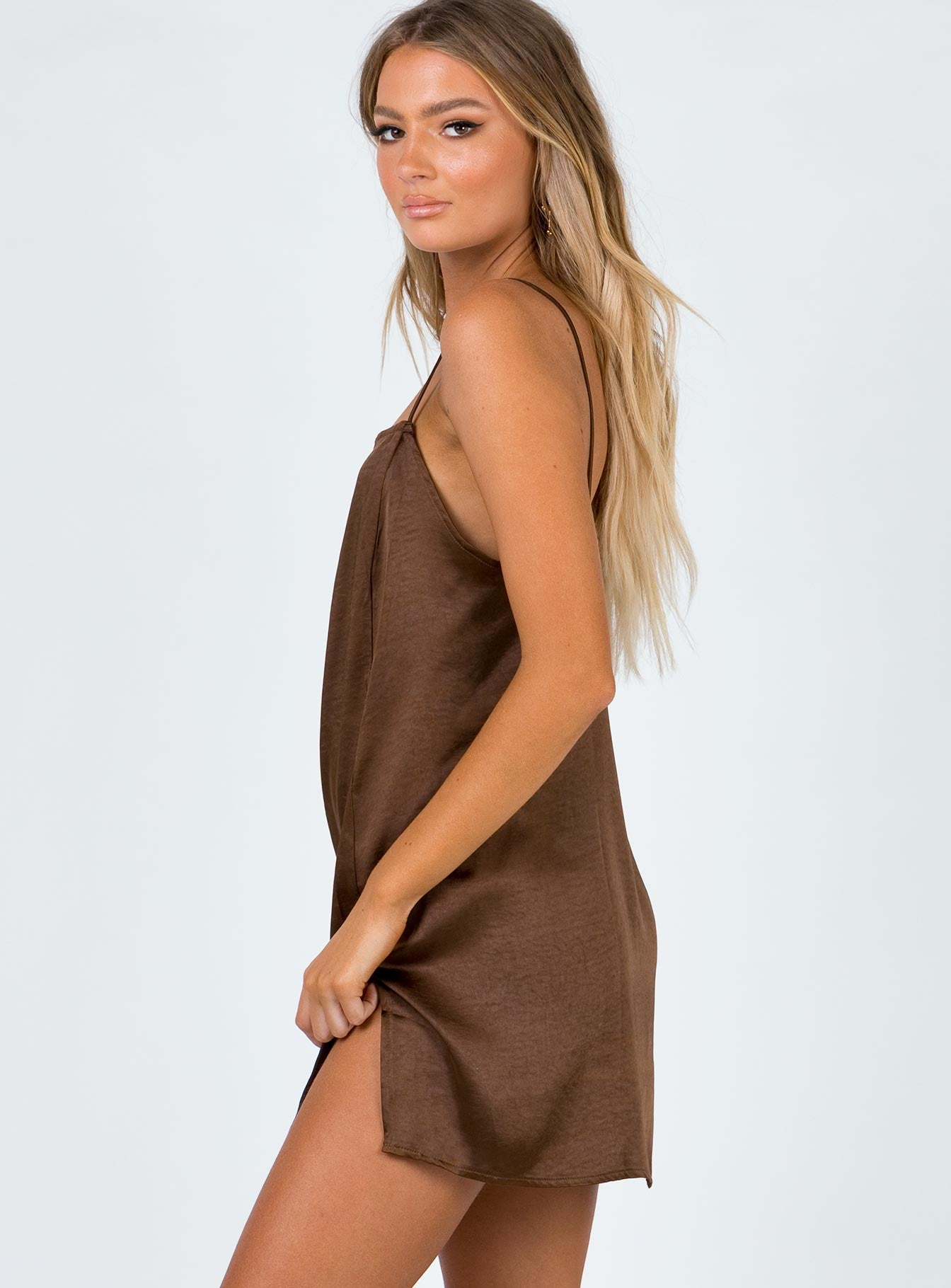 Motel Datista Dress Brown