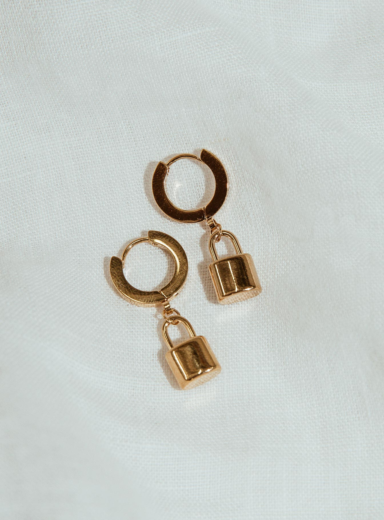 Penny Padlock Earrings