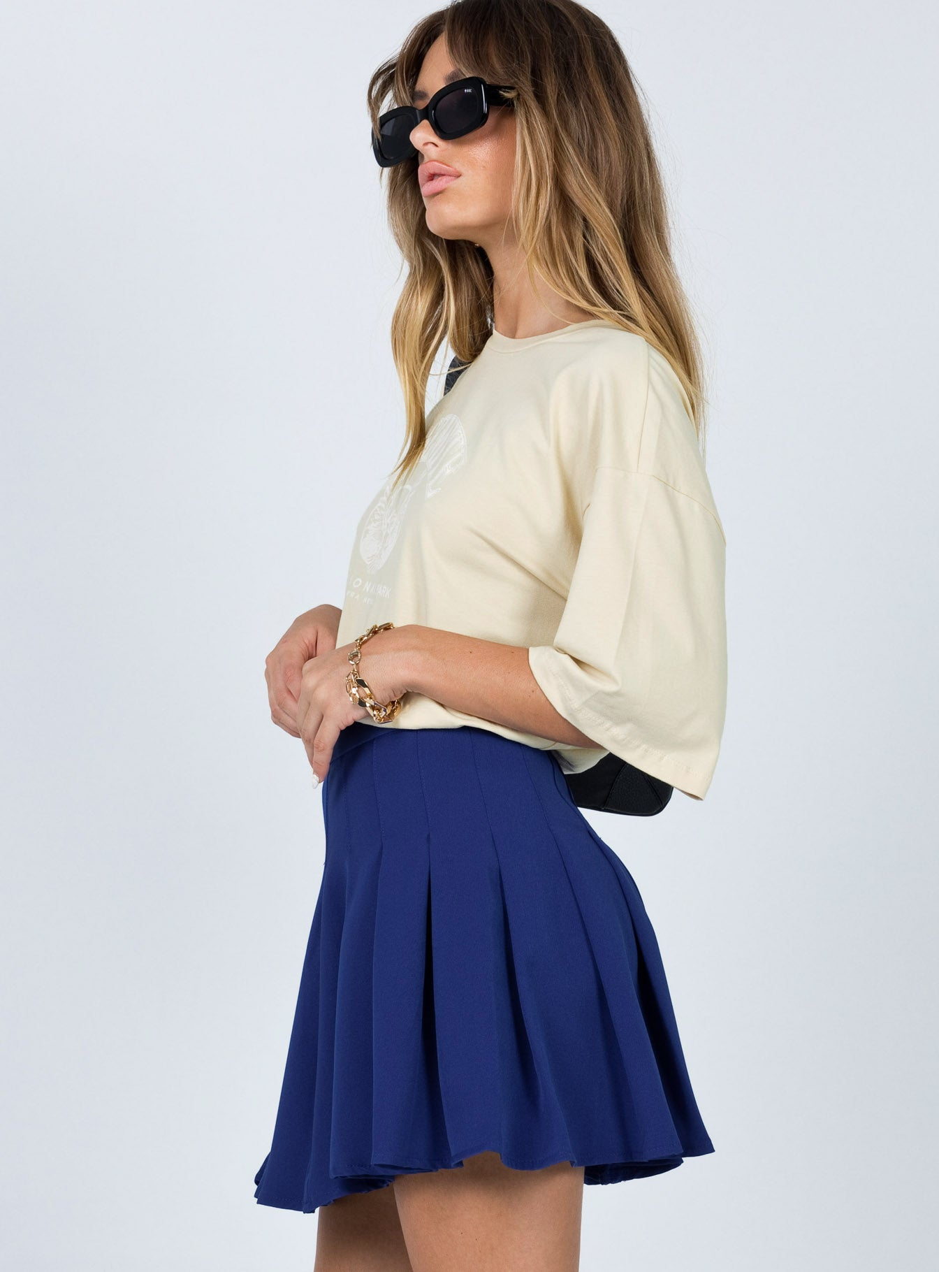 Lucid Mini Skirt Blue